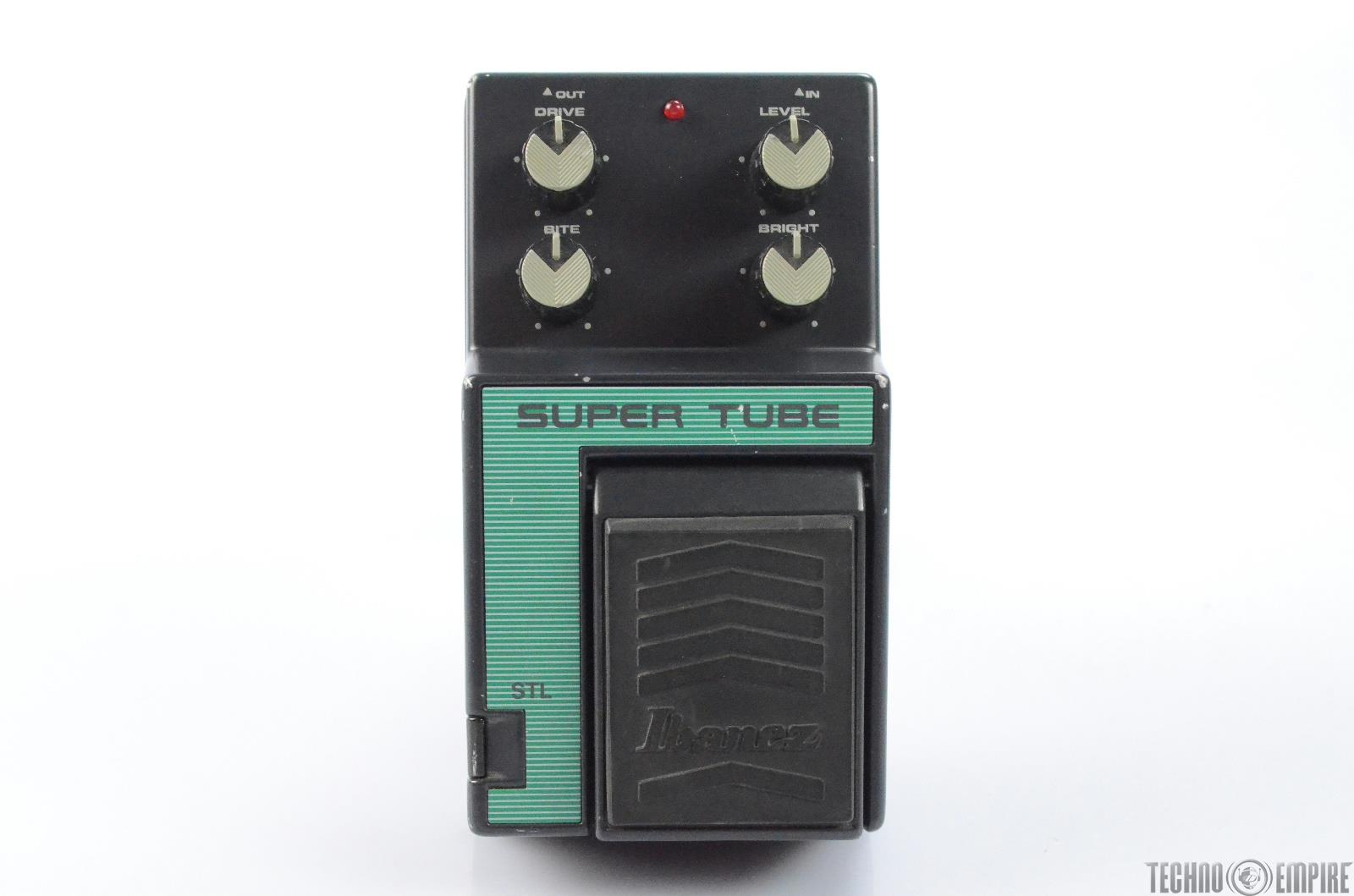 Ibanez STL Super Tube Overdrive Effect Pedal w/ Cables Fairfax Recordings #27853