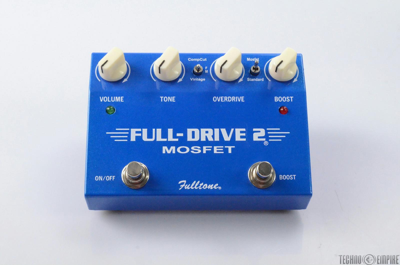 Fulltone Fulldrive 2 Mosfet Overdrive/Boost Pedal Fairfax Recordings #27858