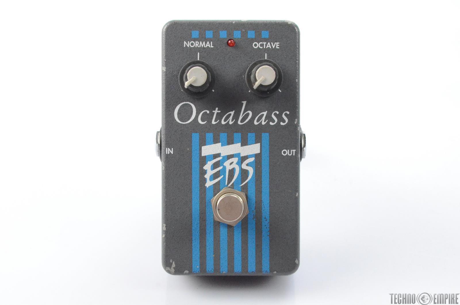 EBS Octabass Octave Pitch Guitar Bass Effect Pedal Fairfax Recordings #27876