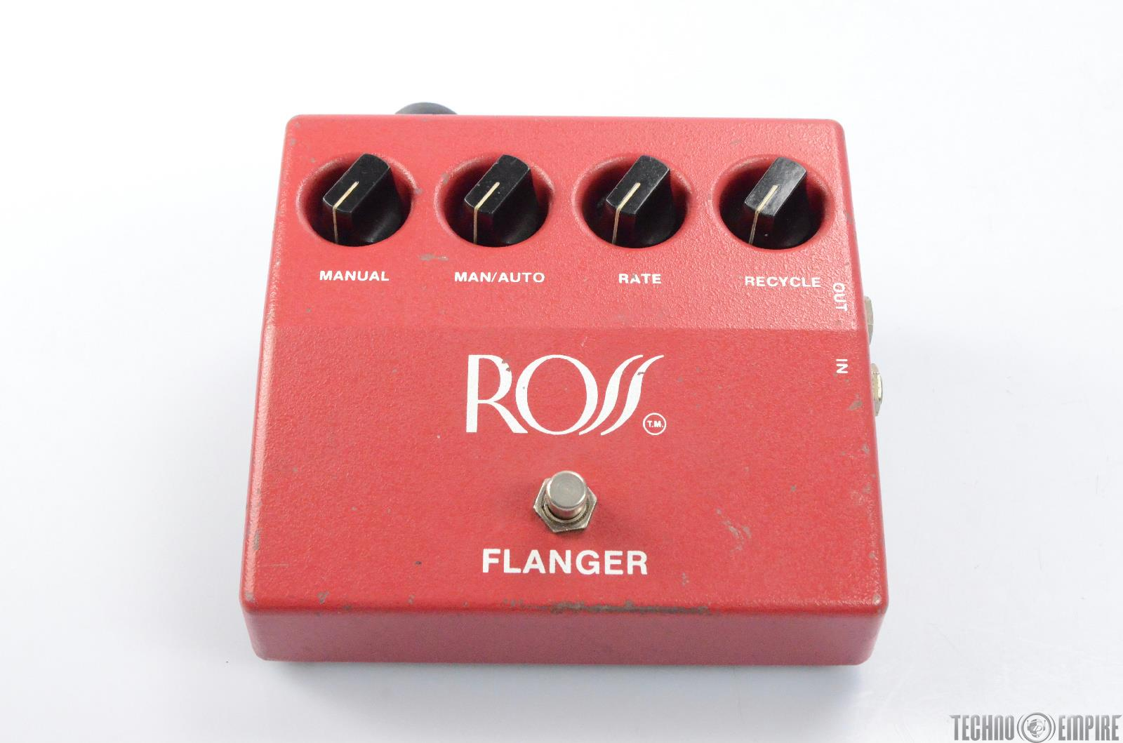 Vintage Ross R-60 Flanger Guitar Effect Pedal Fairfax Recordings #27873