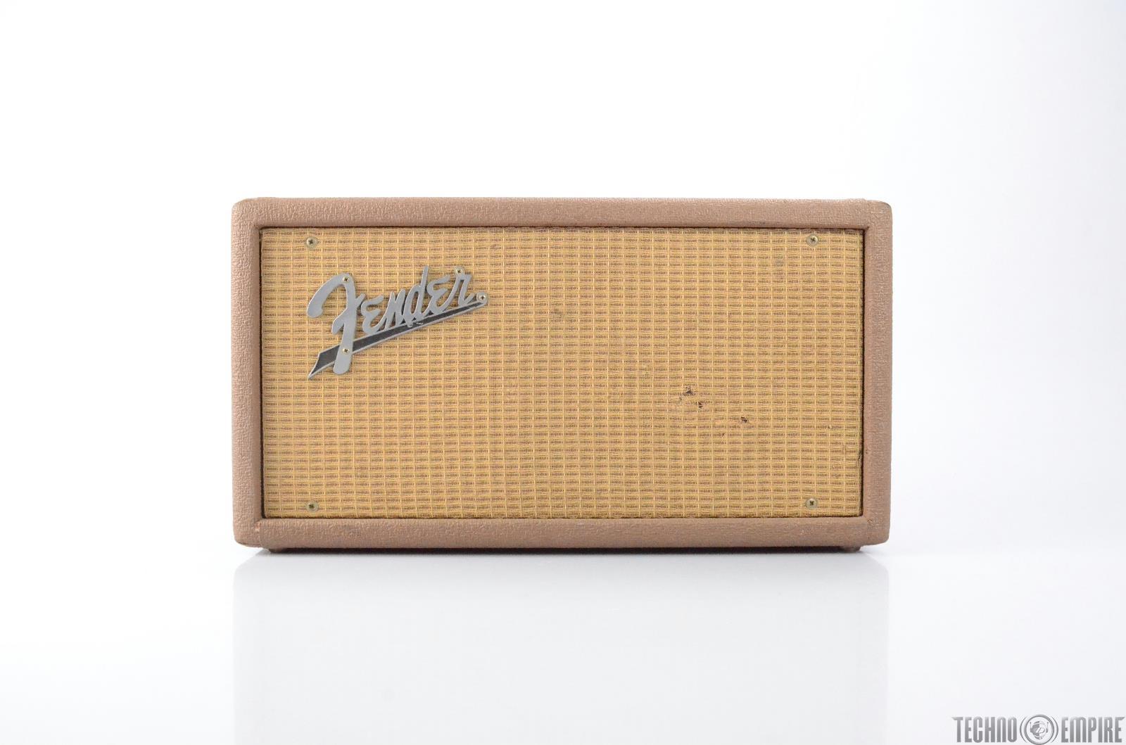 1962 Brown Fender 6G15 Reverb Tank Fairfax Recordings #28532