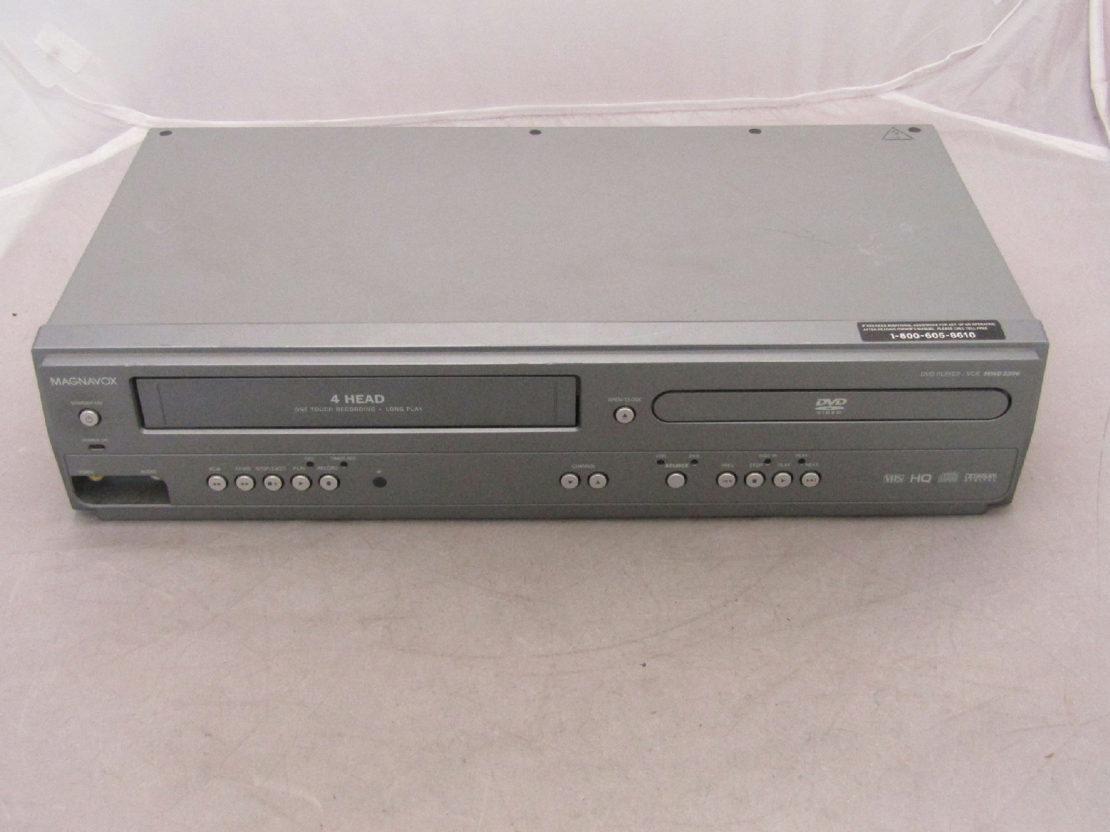 how to fix a dvd player that has no power