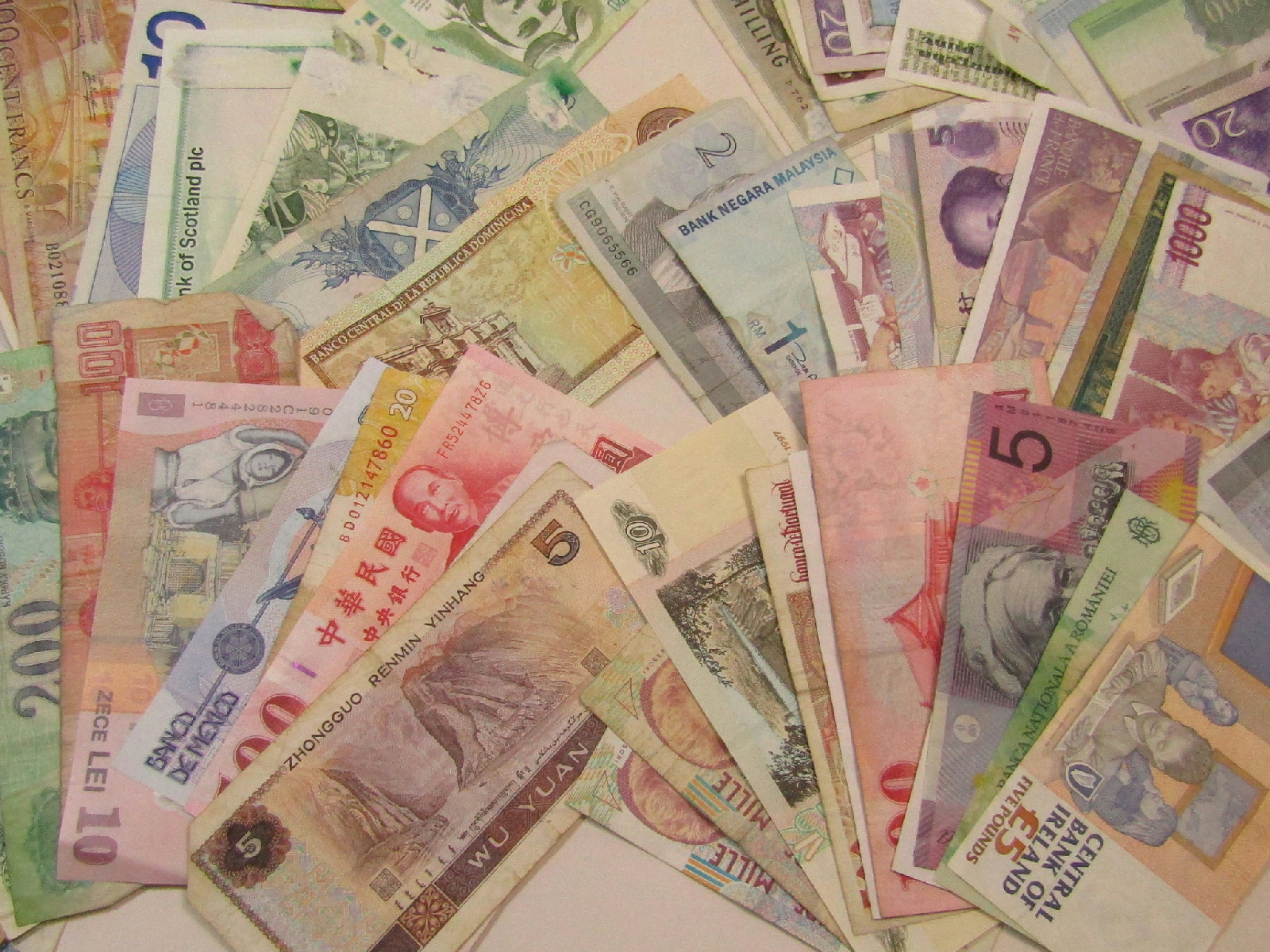 Sell foreign money