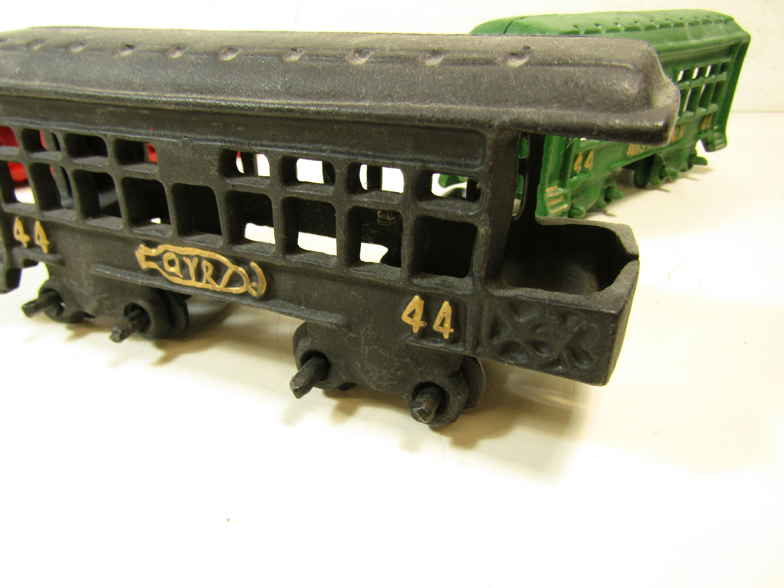Nycrr Cast Iron Train: Vintage Pennsylvania Railroad PRR Washington 44 Cast Iron