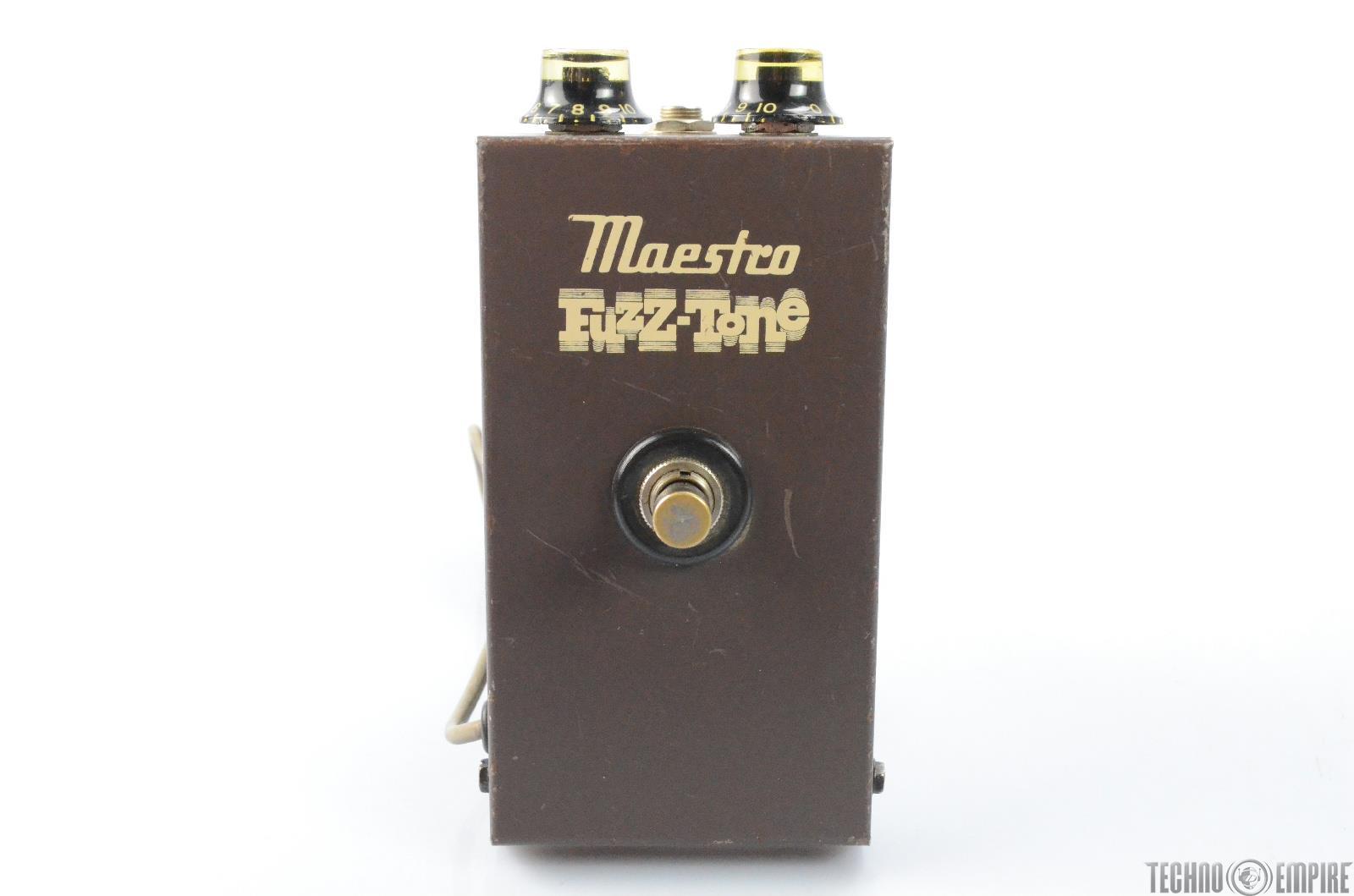 1960's Gibson Maestro Fuzz-Tone FZ-1A Guitar Pedal Fairfax Recording #27854