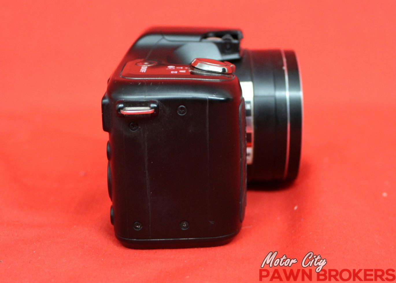Nikon coolpix l100 10 mp 15x optical zoom point shoot for Motor city pawn shop
