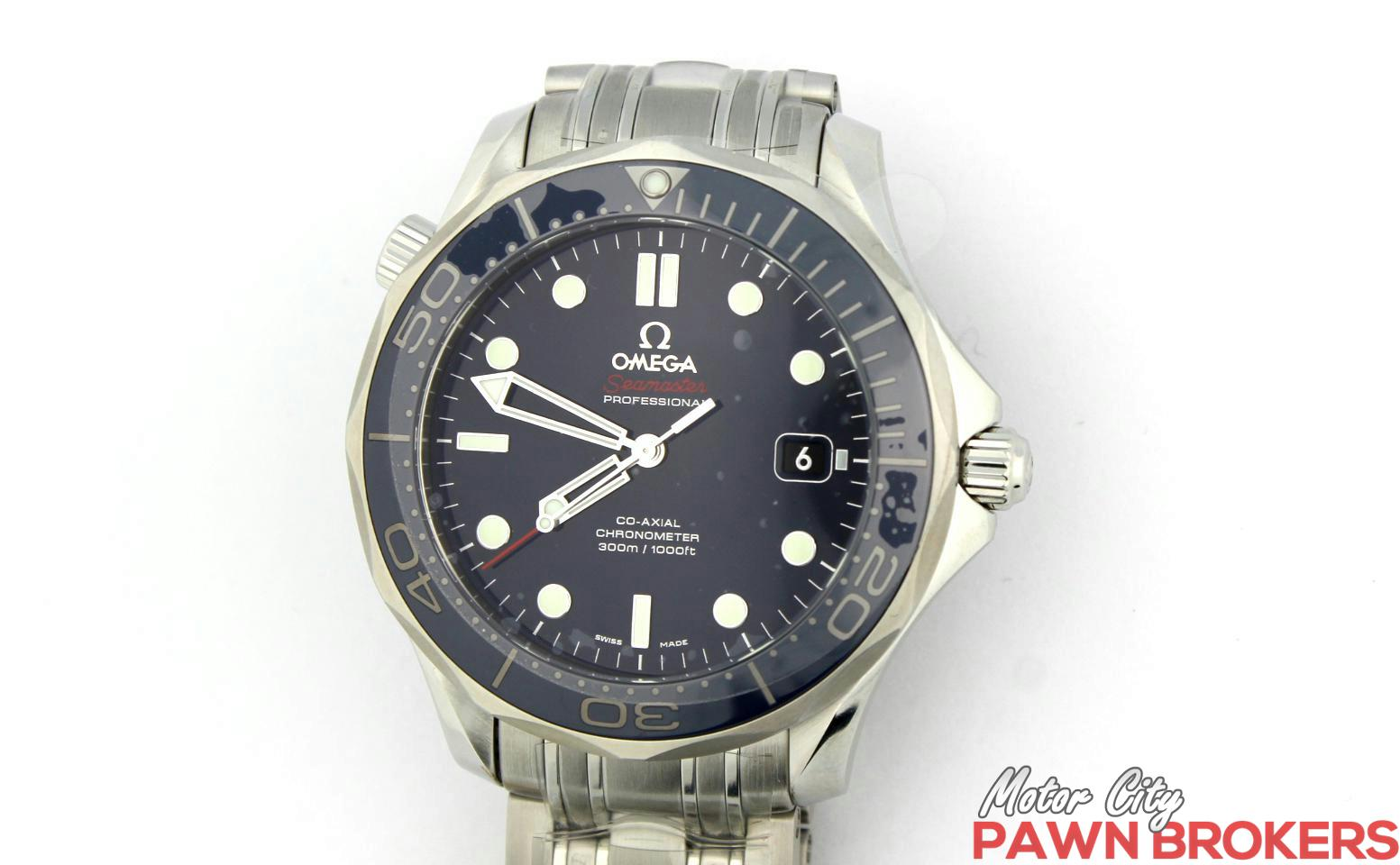 Omega seamaster professional 41 mm diver 300m blue men 39 s watch new for Omega seamaster professional