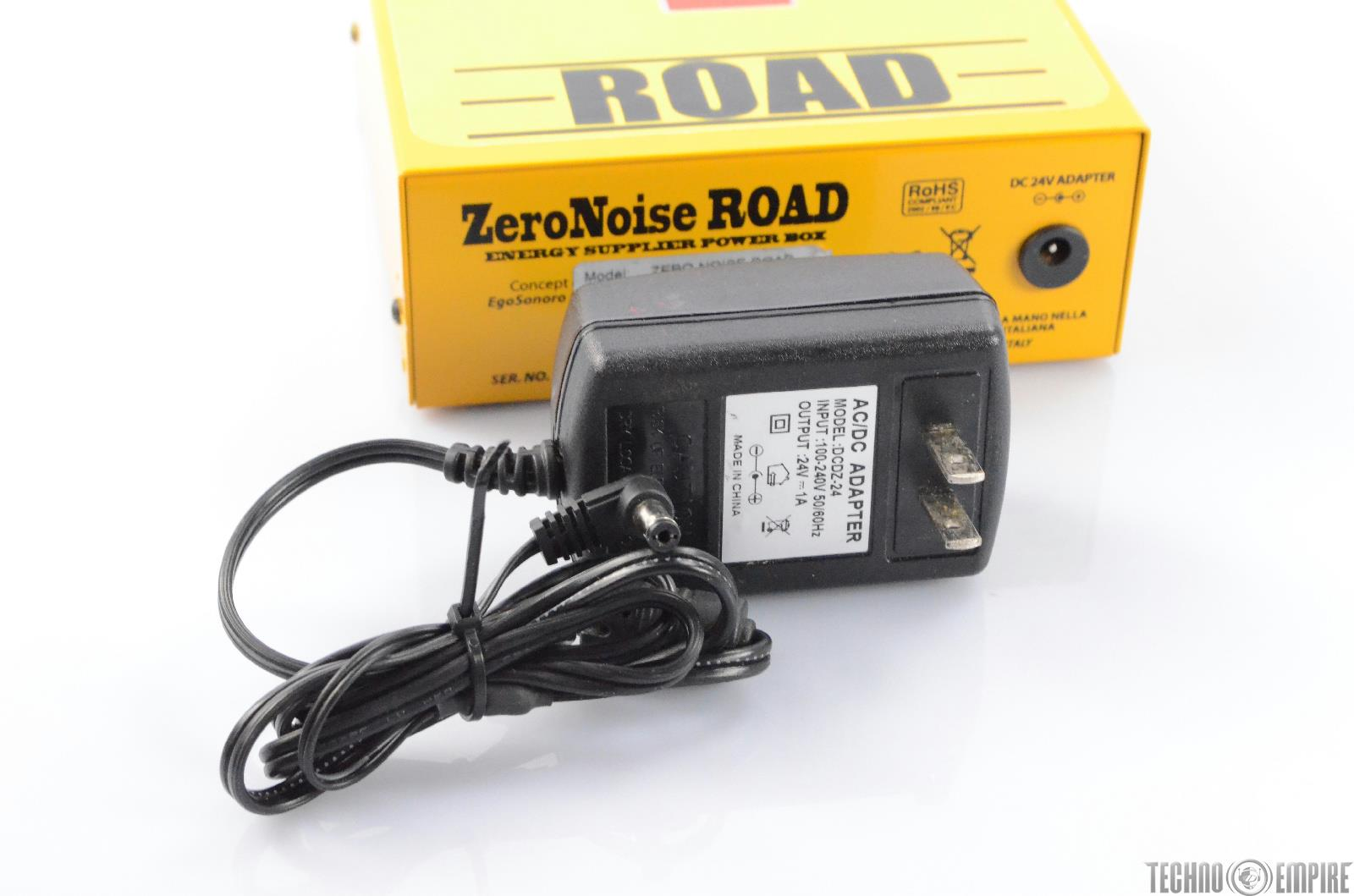 ego sonoro zero noise road rechargeable effect pedal board power supply 28821 techno empire. Black Bedroom Furniture Sets. Home Design Ideas