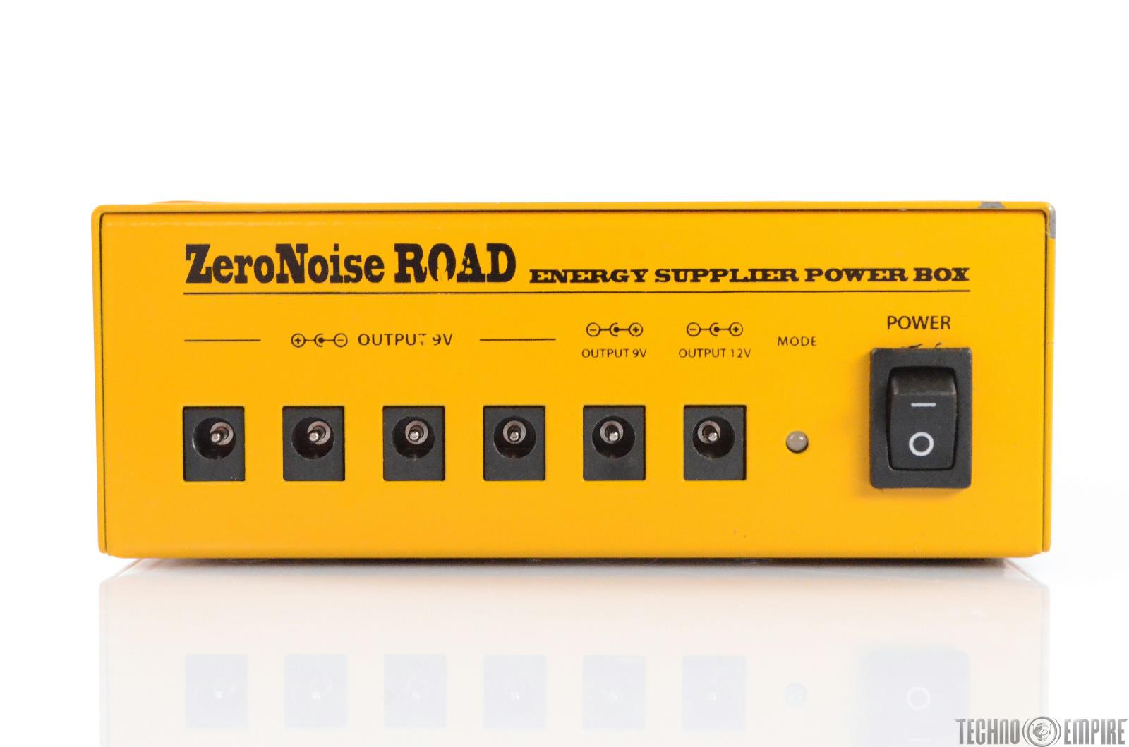 Ego Sonoro Zero Noise Road Rechargeable Effect Pedal Board Power Supply #28821
