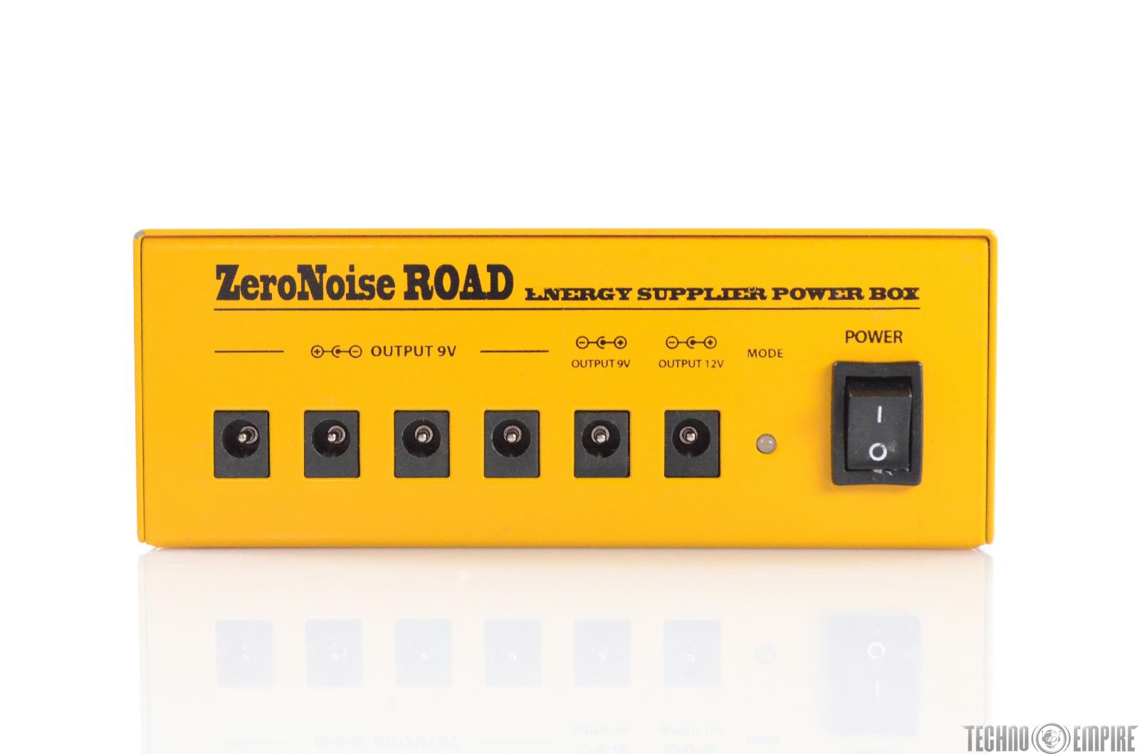 Ego Sonoro Zero Noise Road Rechargeable Guitar Pedal Board Power Supply #28823