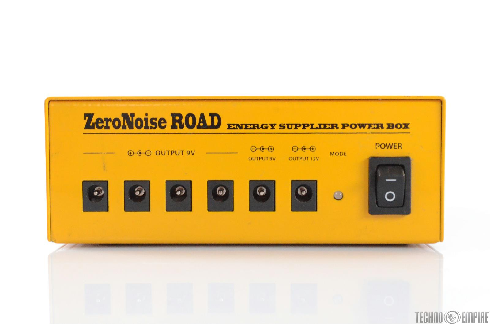 Ego Sonoro Zero Noise Road Rechargeable Effect Pedal Board Power Supply #28822