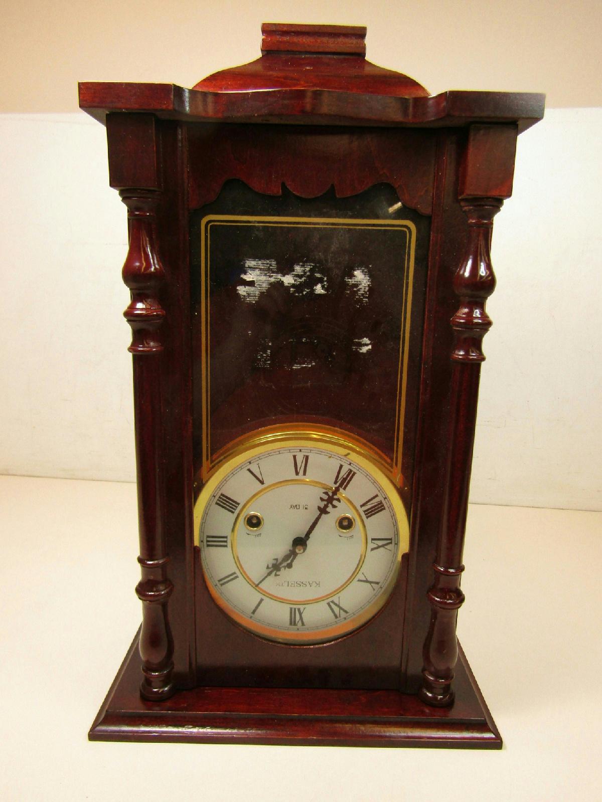 beautiful kassel german pendulum 31 day wall clock