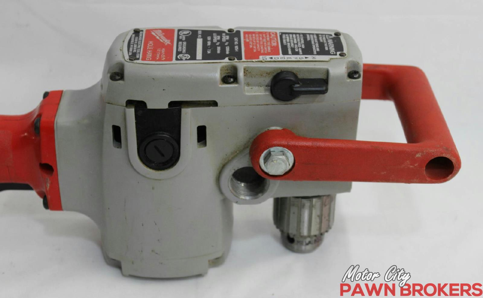 Milwaukee 1675 6 hole hawg 7 5 amp 1 2 inch joist for Motor city pawn shop