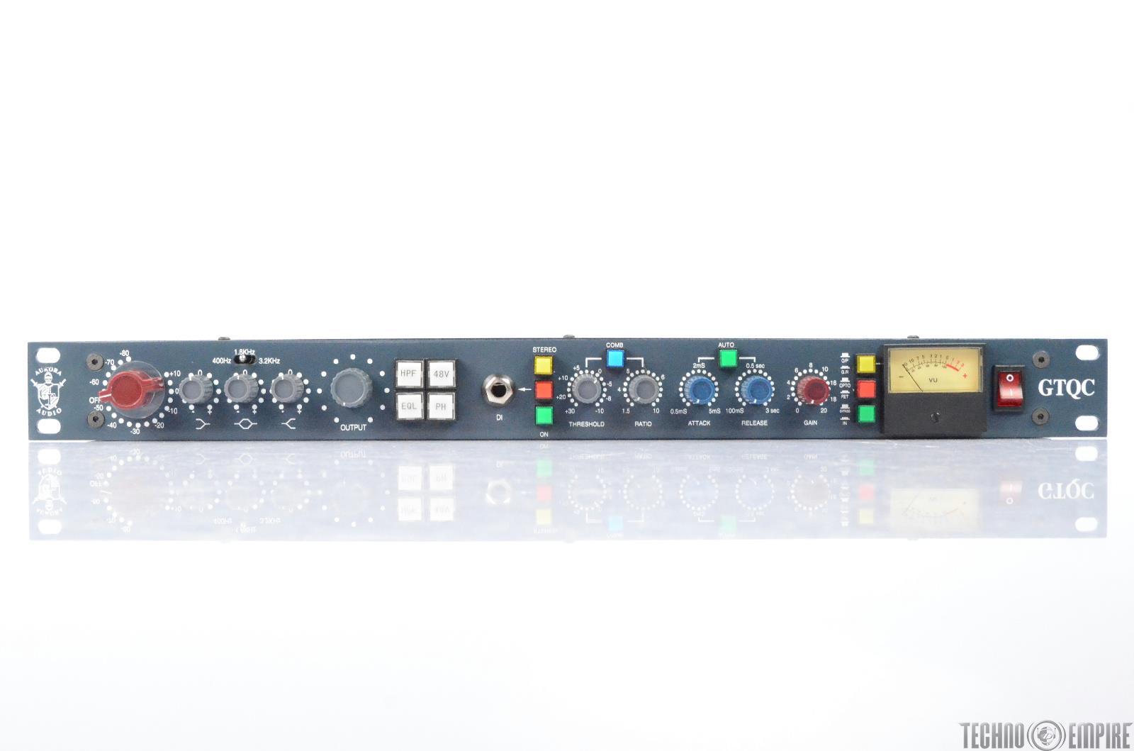Aurora Audio GTQC Preamp Compressor Channel Strip Grandmaster Recorders #28712