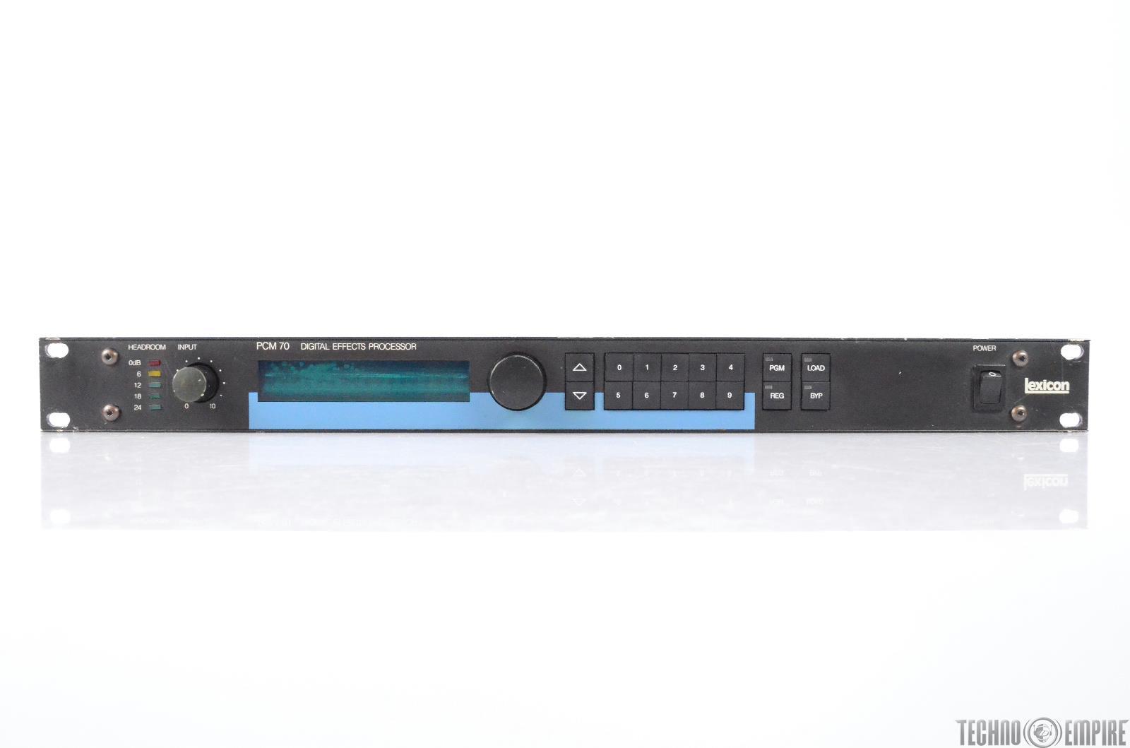 Lexicon PCM 70 V1.2 Digital Multi-Effect Processor Grandmaster Recorders #28726