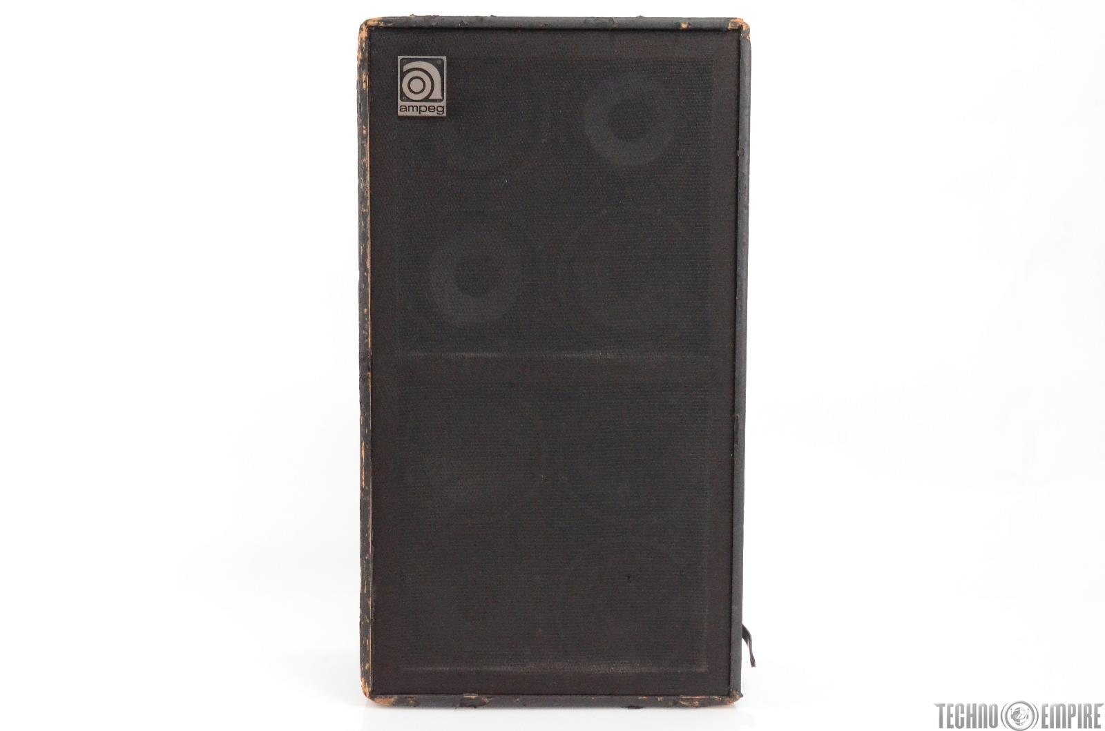"Vintage Ampeg SVT 4 Ohms 8x10"" Bass Speaker Cabinet Grandmaster Recorders #28705"