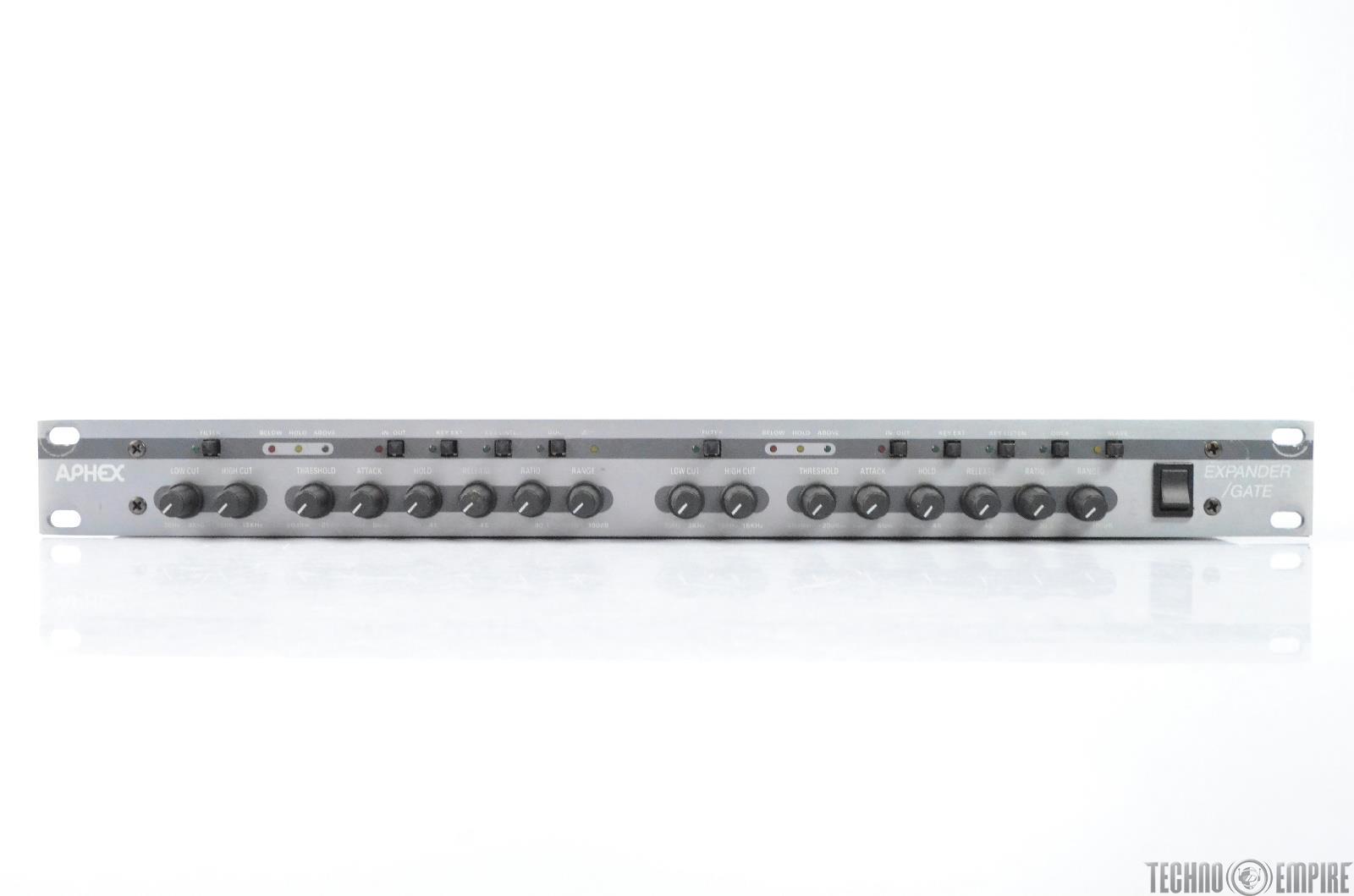 Aphex 612 Dual Channel Expander Gate Grandmaster Recorders #28716