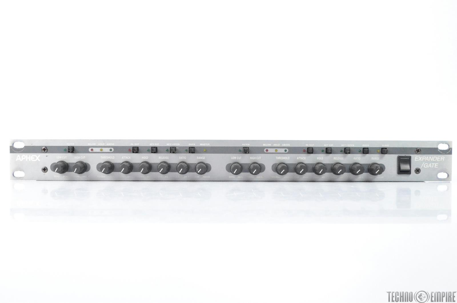 Aphex 612 Dual Channel Expander Gate Grandmaster Recorders #28717