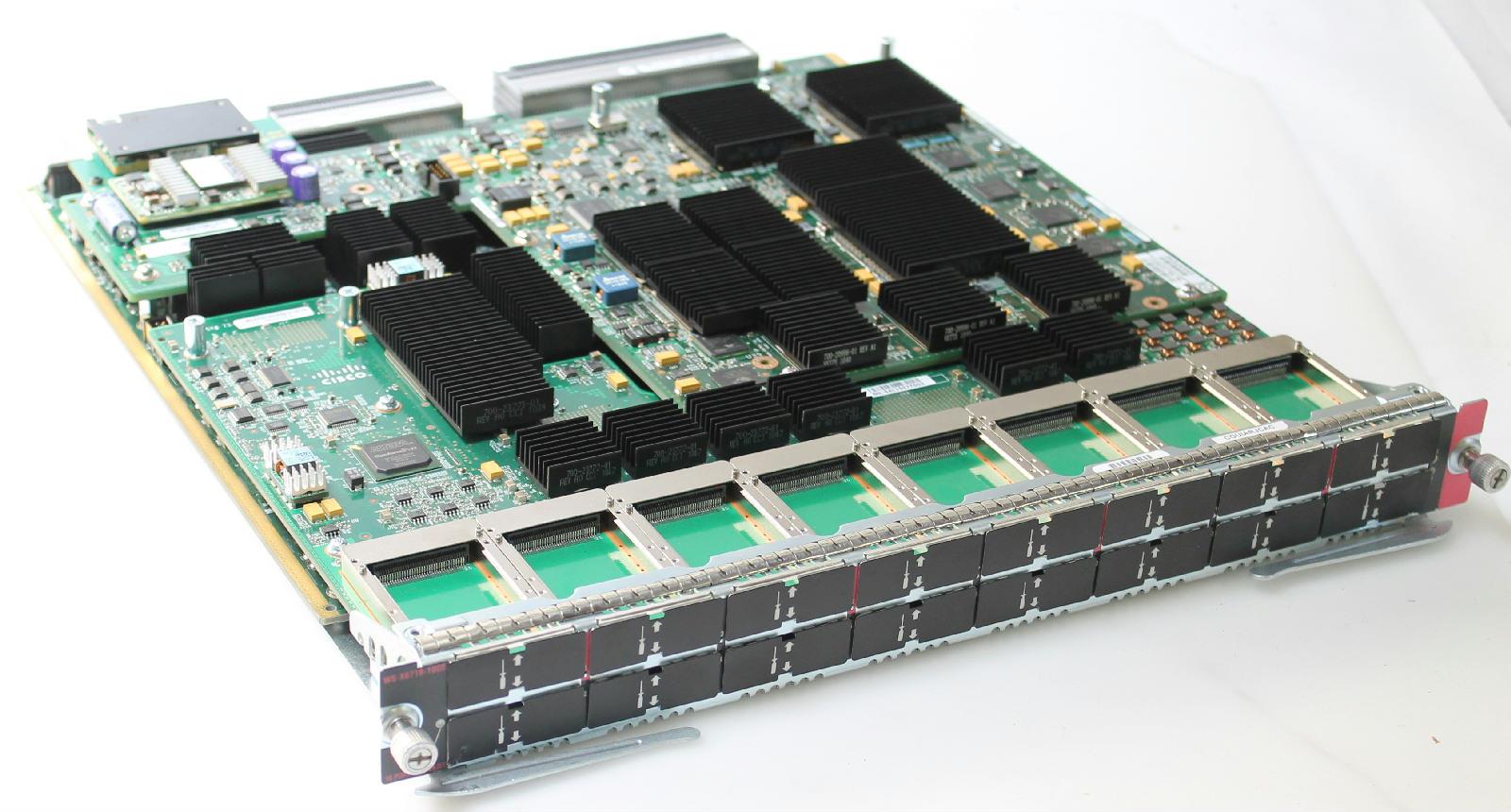 Cisco WS-X6716-10GE Catalyst 6500 16-Port 10 Gigabit