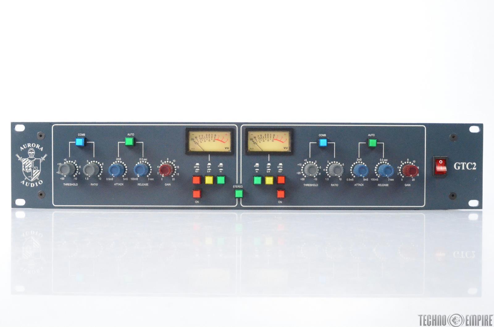 Aurora Audio GTC2 Dual Channel Compressor Serial #1 Grandmaster Recorders #28719