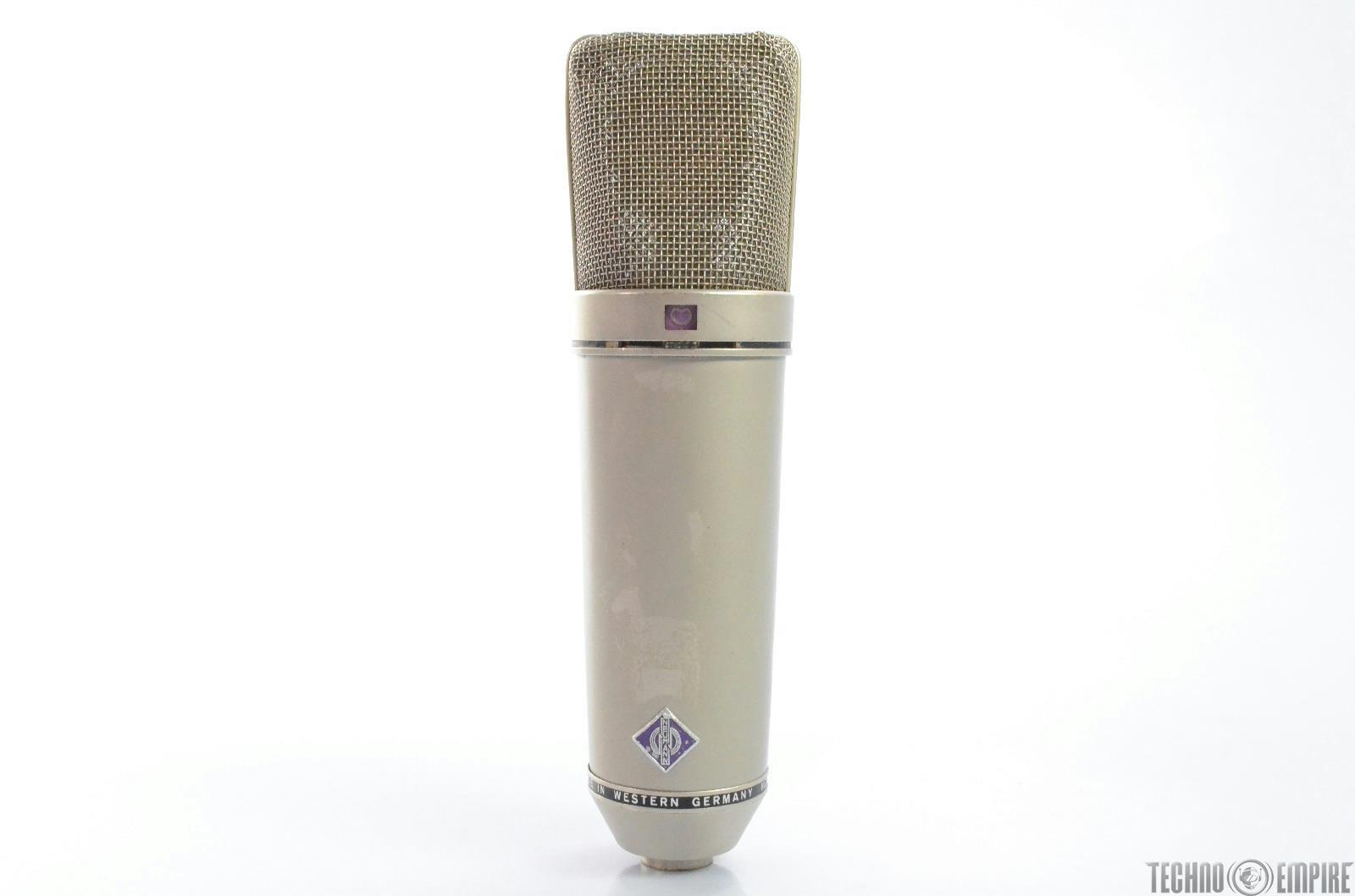Vintage Neumann U87 Large Diaphragm Mic Microphone Grandmaster Recorders #28788