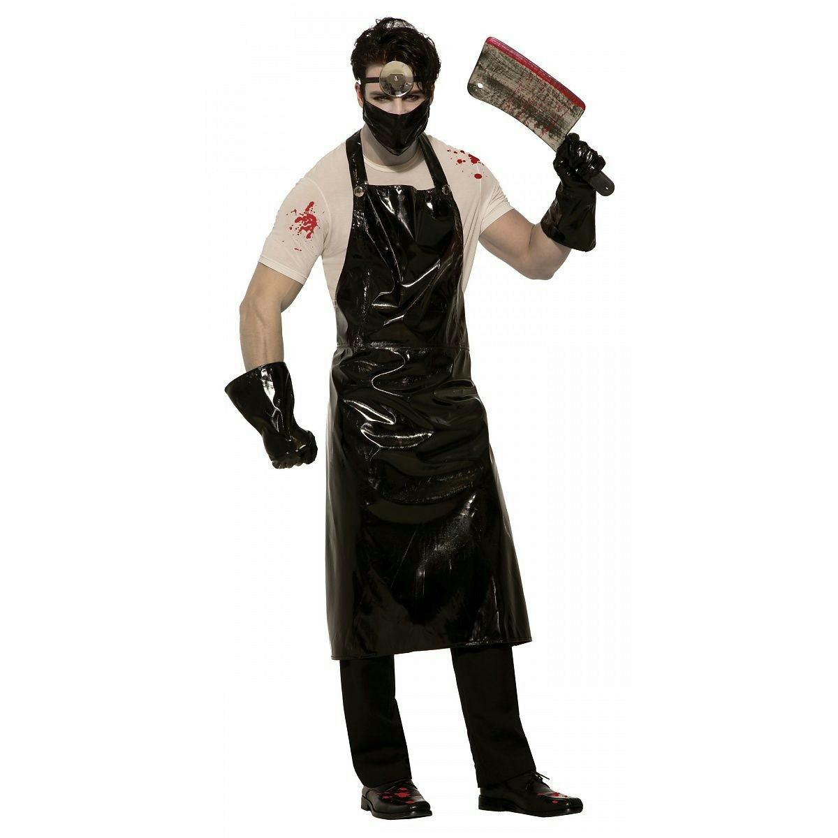 Details about Psycho Surgeon Adult Costume Evil Serial Killer
