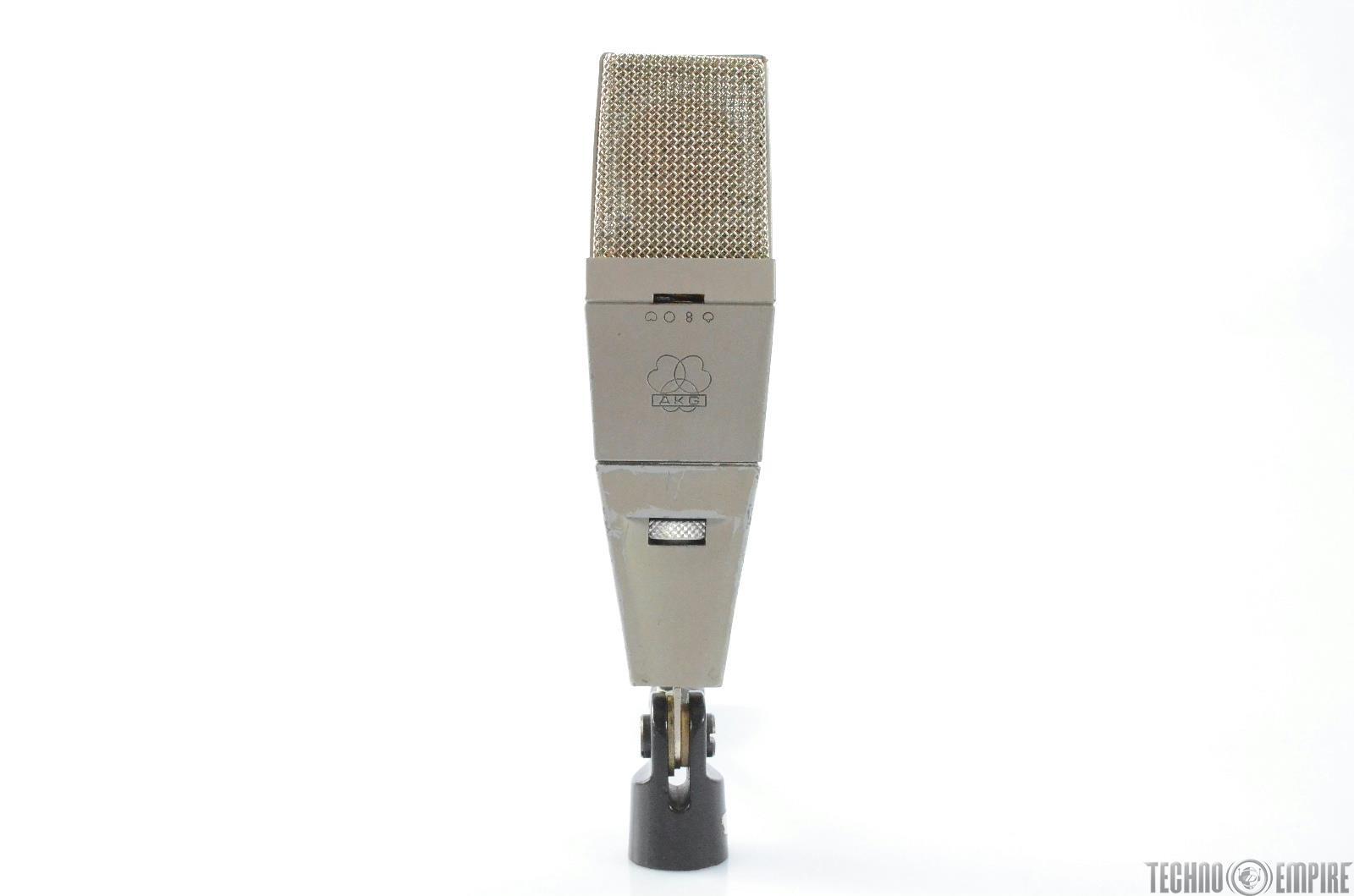 Vintage AKG C 414 Condenser Microphone Studio Mic Grandmaster Recorders #28760