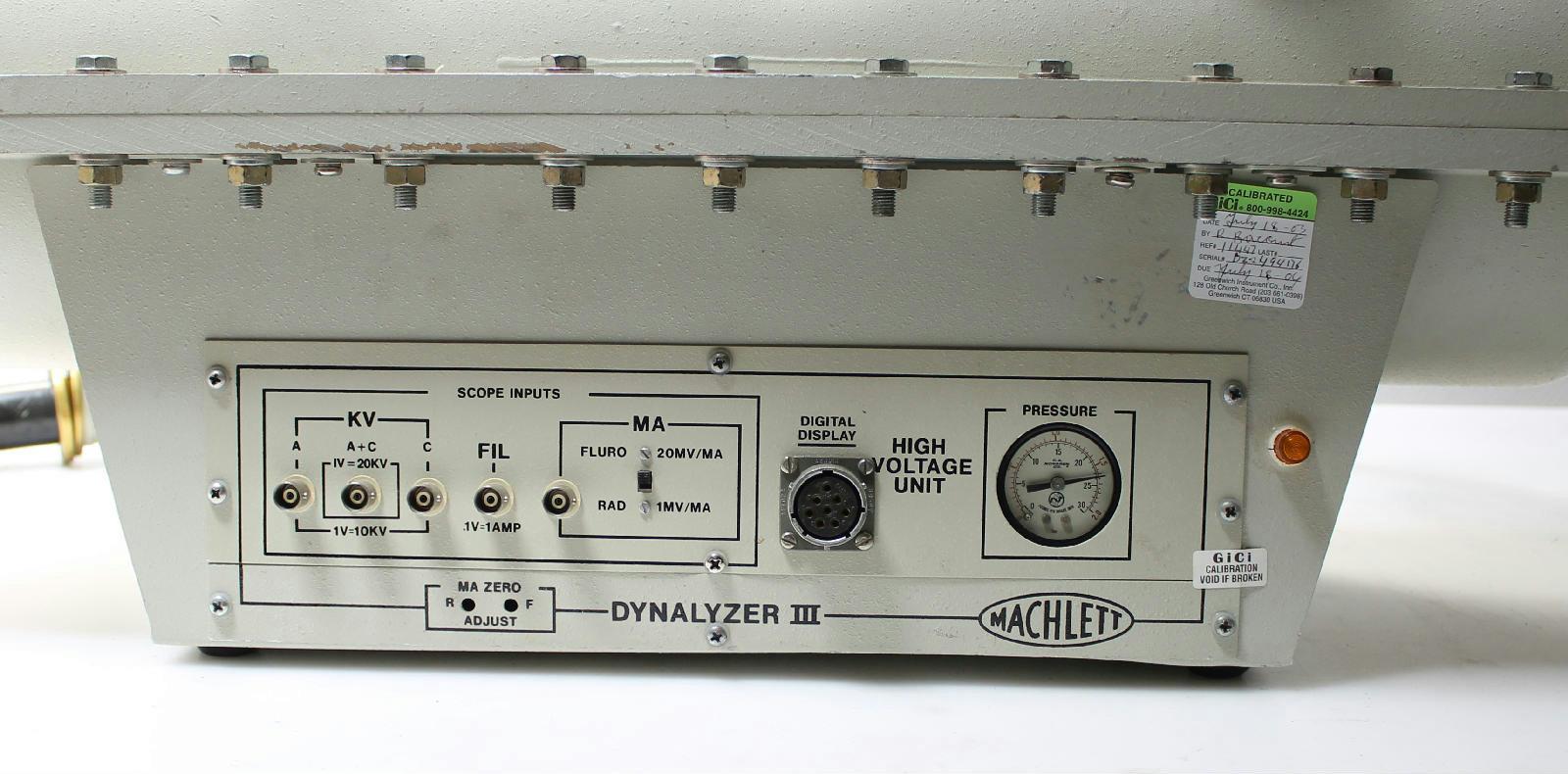 Varian Machlett Dynalyzer Iii High Voltage Unit X Ray
