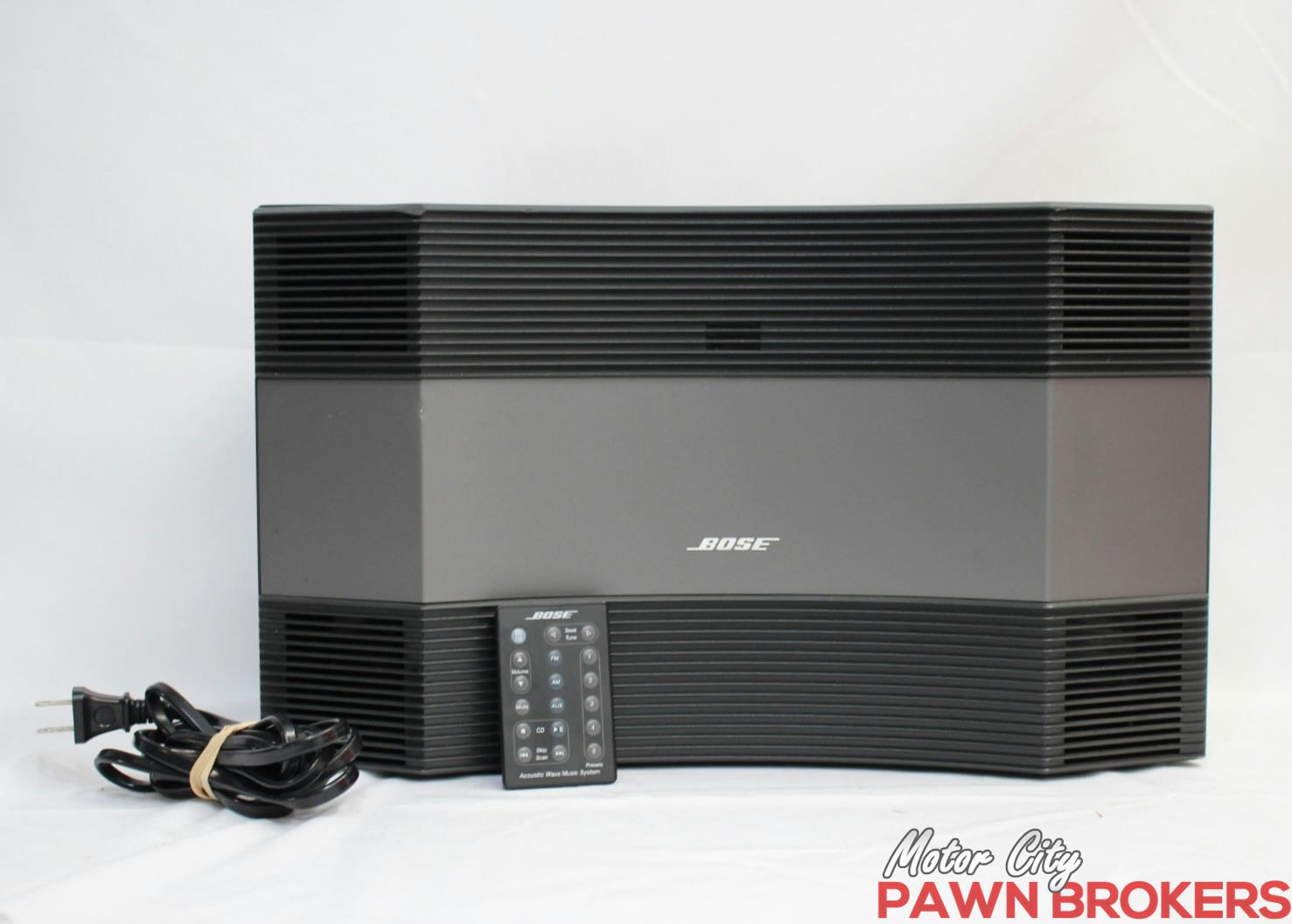 bose cd 3000 acoustic wave am fm radio cd player home. Black Bedroom Furniture Sets. Home Design Ideas