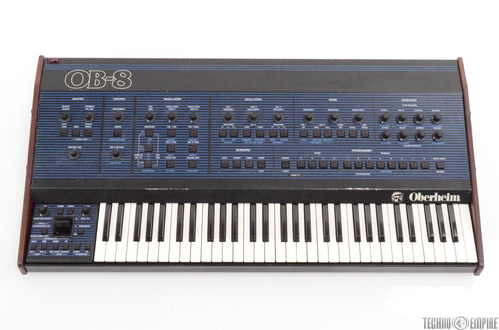 Oberheim OB-8 Analog 61 Note Keyboard Synthesizer w/ MIDI #29300