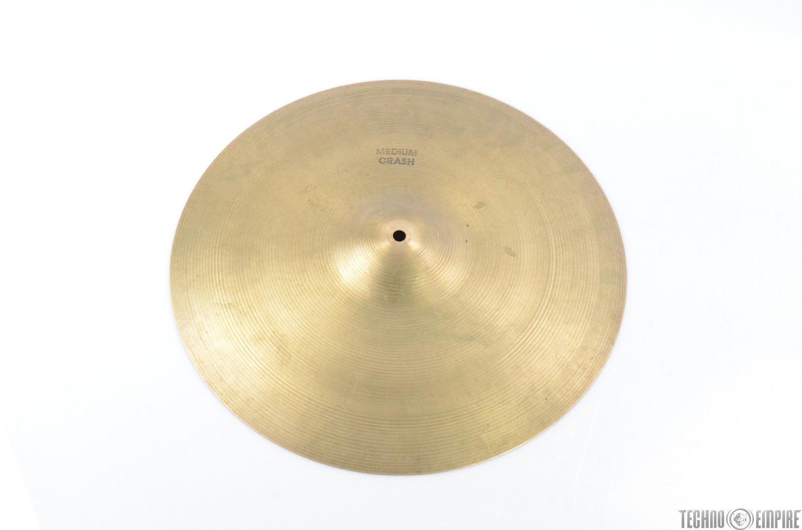 "Vintage Zildjian 18"" Medium Crash Cymbal #28986"