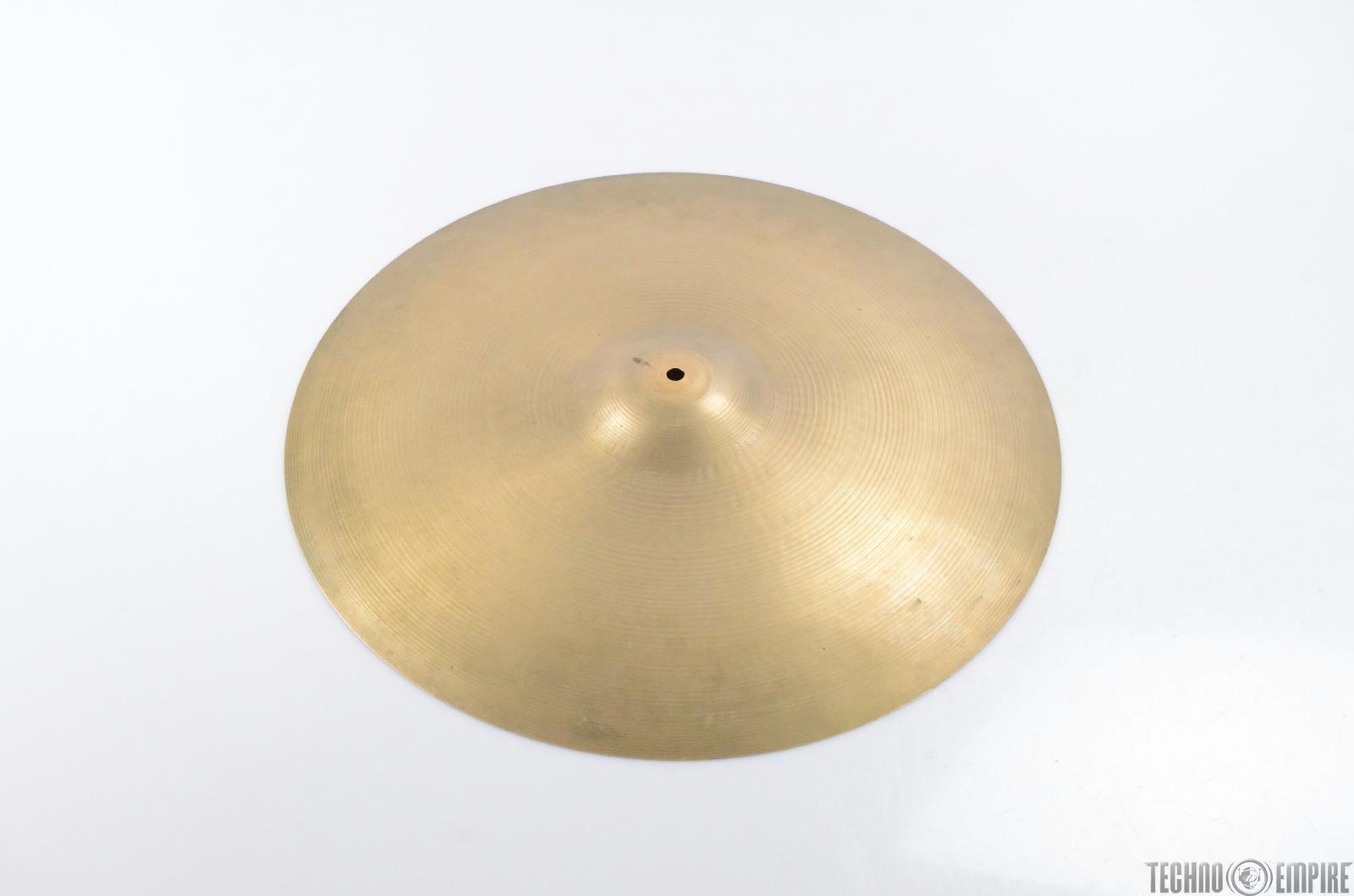 """Vintage Zildjian 22"""" Ride Cymbal #28987"""