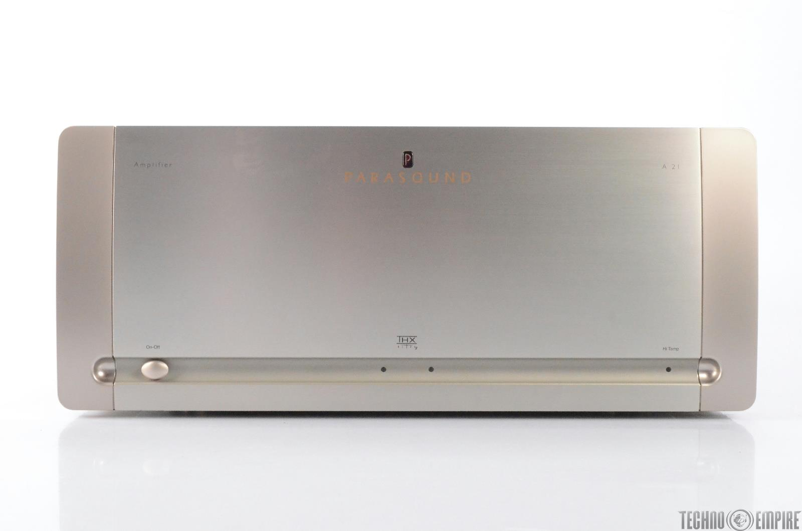 Parasound Halo A21 Stereo Power Amplifier #29308 (PENDING REPAIR)