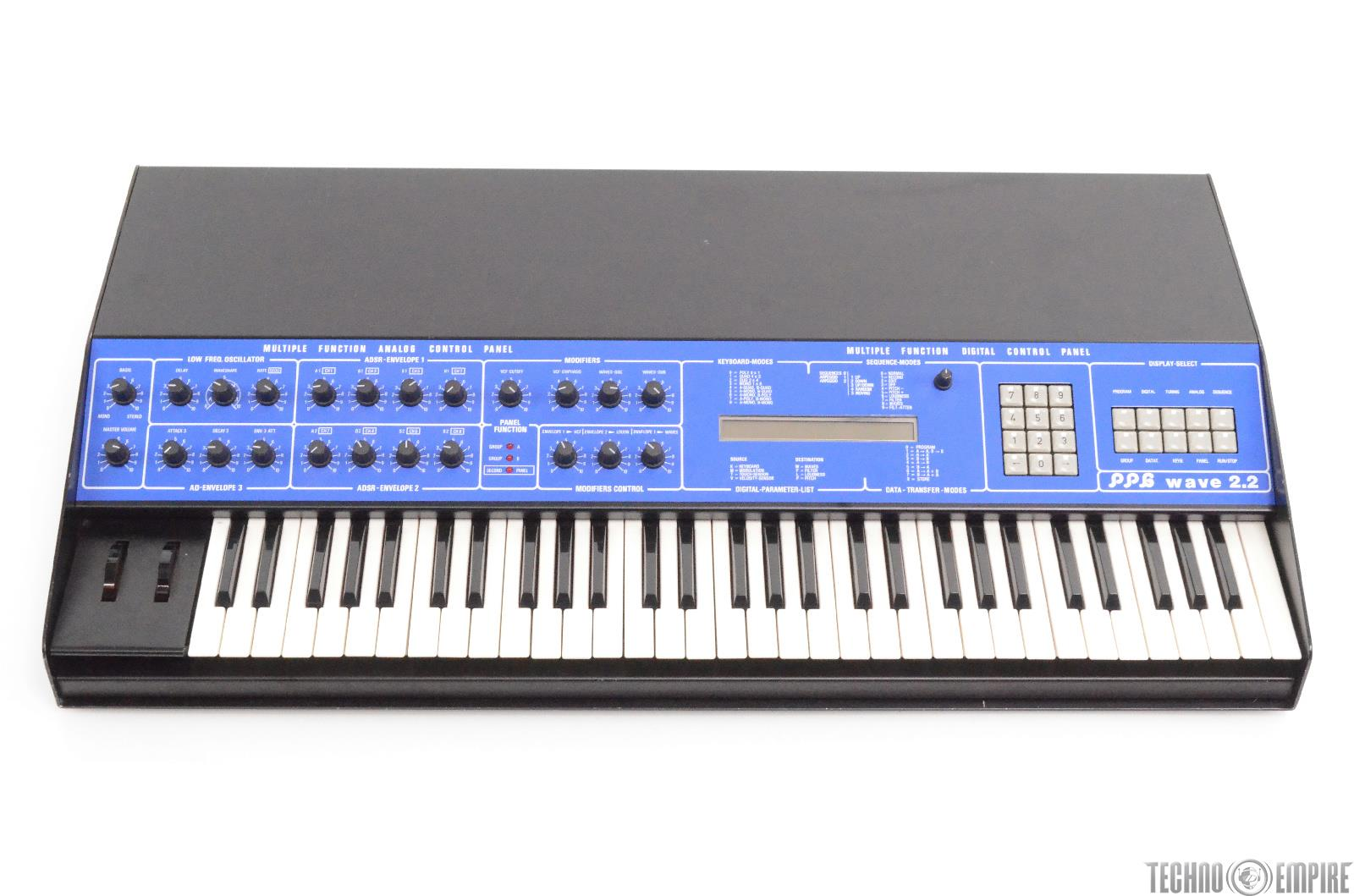 PPG Wave 2.2 Analog/Digital Wavetable Synthesizer Synth Refurbished #28450