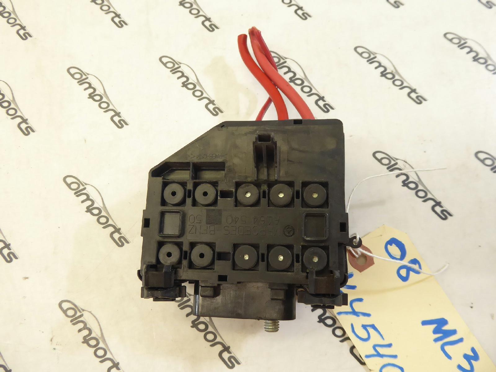 06 11 mercedes ml350 gl350 r350 fuse box rear oem 1645400350 ebay rh ebay com