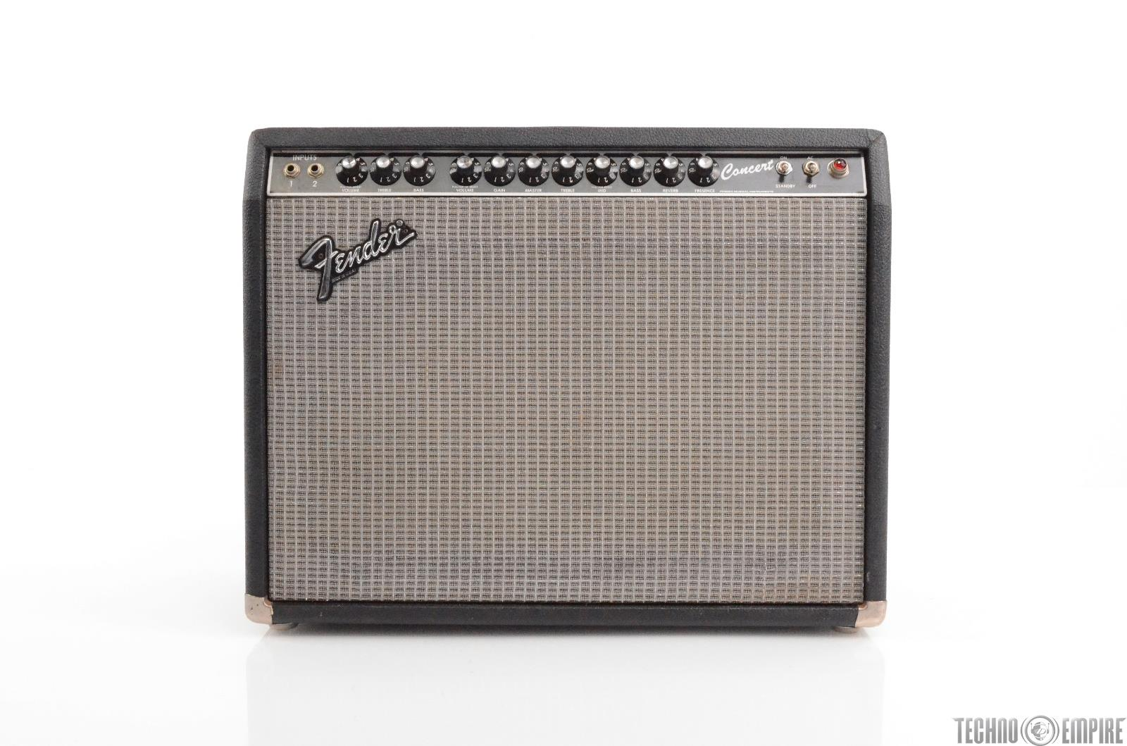 1980's Fender Concert Amp 1x12 Tube Guitar Amp Paul Barrere Little Feat #29317
