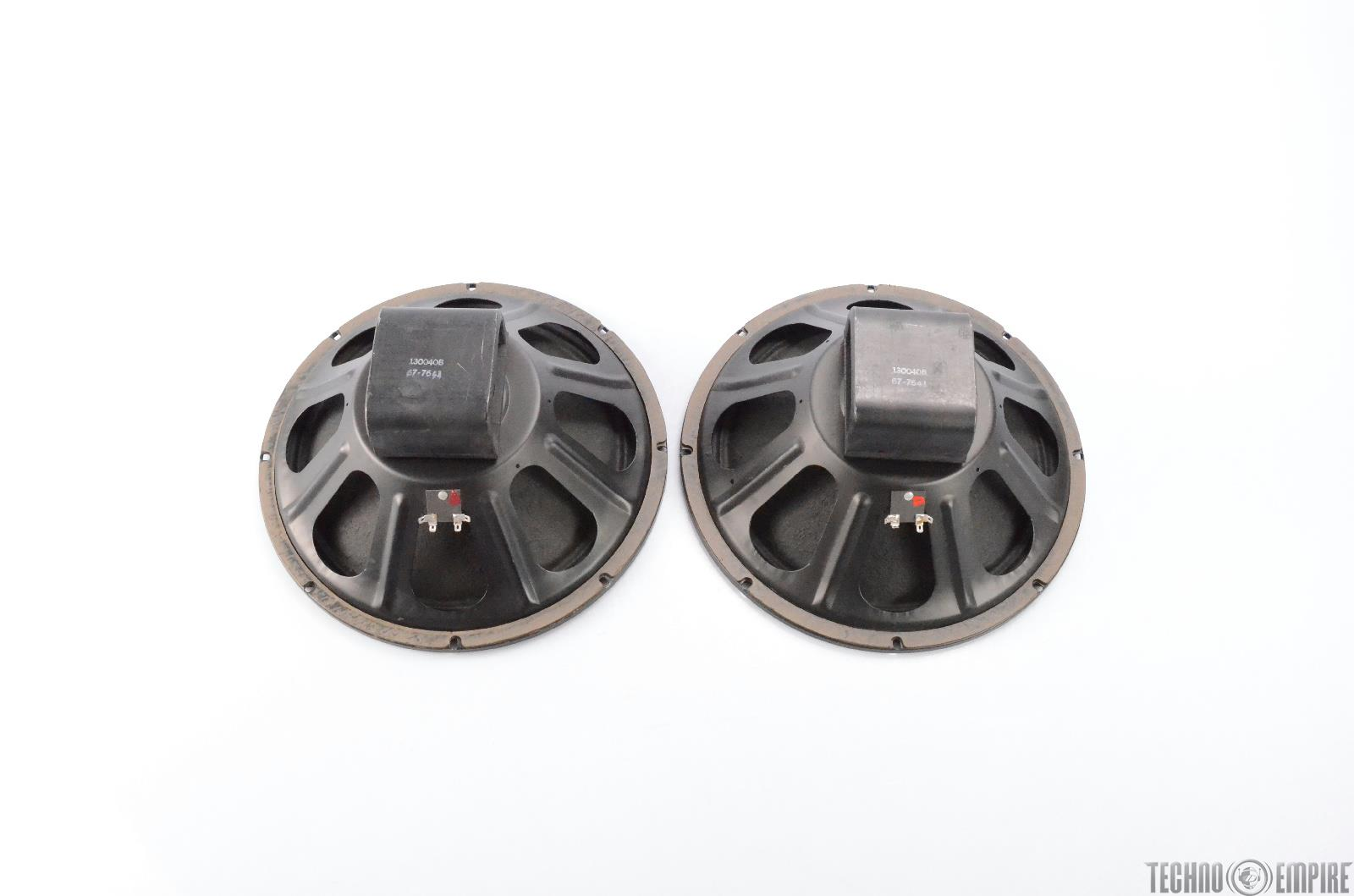 """2 Eminence 130040B 15"""" 4Ohm Speakers Owned by Justin Meldal-Johnsen #29366"""