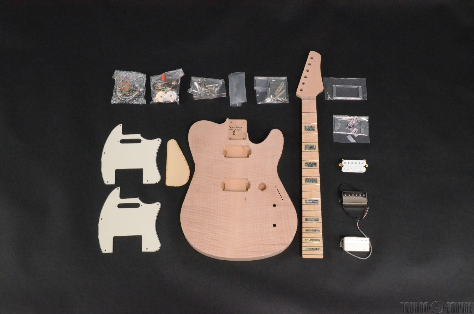 Buzz Feiten Gemini Signature Elite Build Your Own Electric Guitar Kit #28411