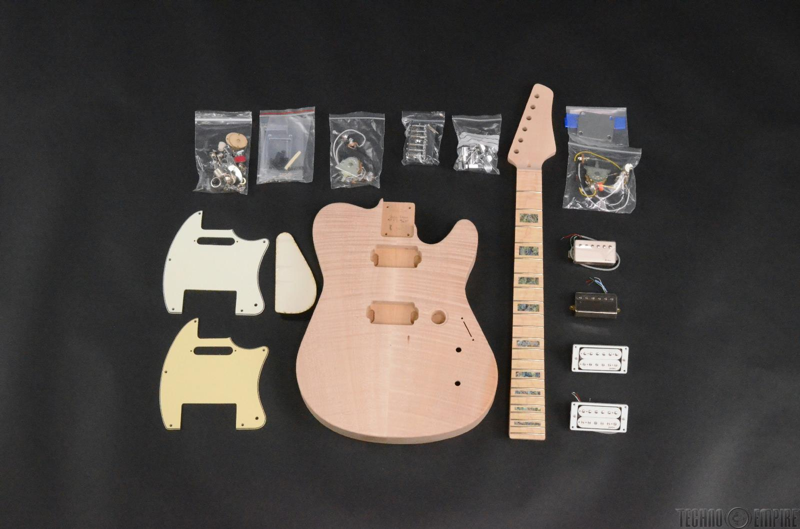 Buzz Feiten Gemini Signature Elite Build Your Own Electric Guitar Kit #28414