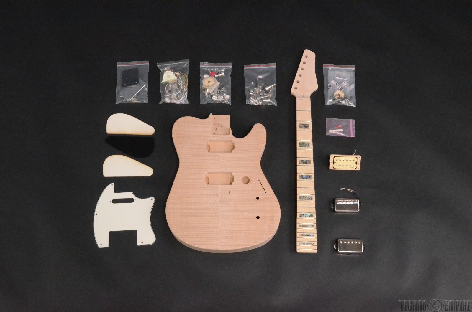 Buzz Feiten Gemini Signature Elite Build Your Own Electric Guitar Kit #28412
