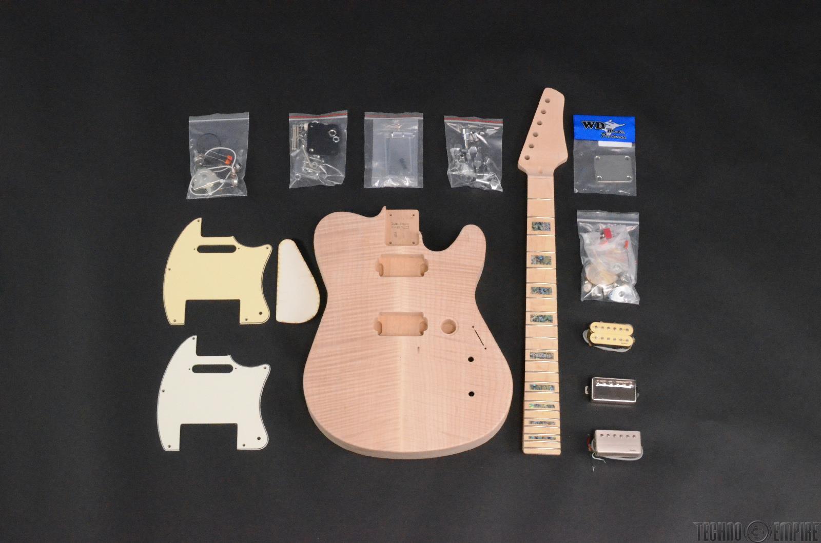 Buzz Feiten Gemini Signature Elite Build Your Own Electric Guitar Kit #28413