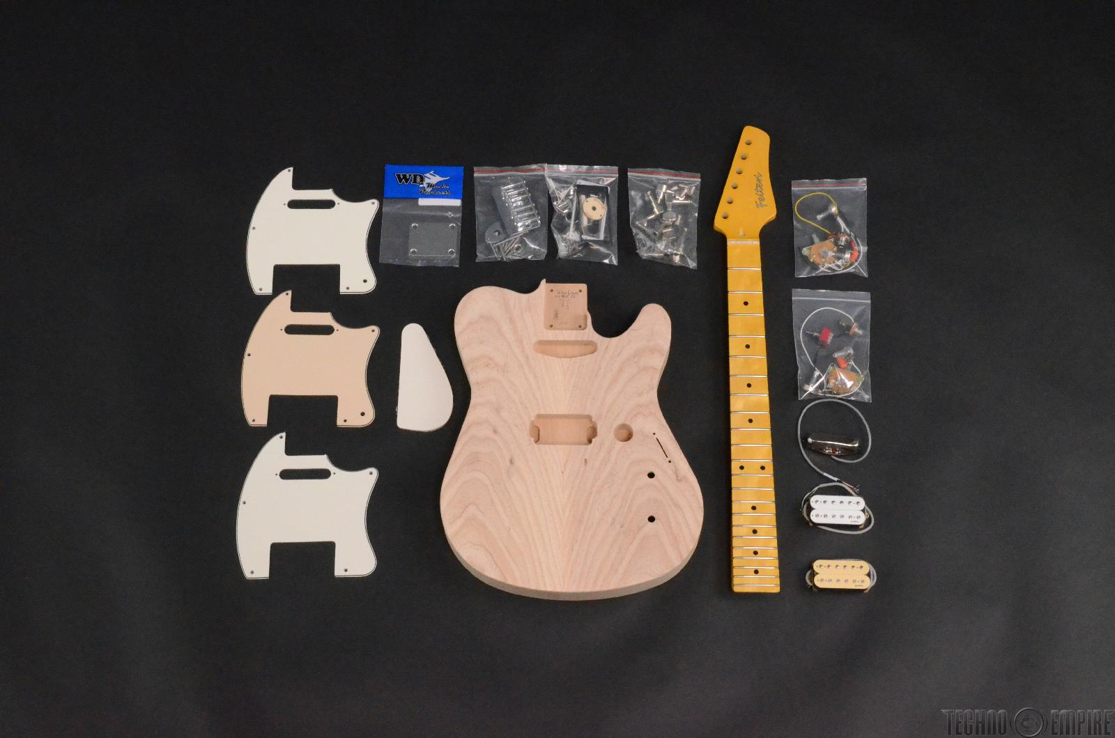 Buzz Feiten Elite Pro Build Your Own Electric Guitar Kit #28468