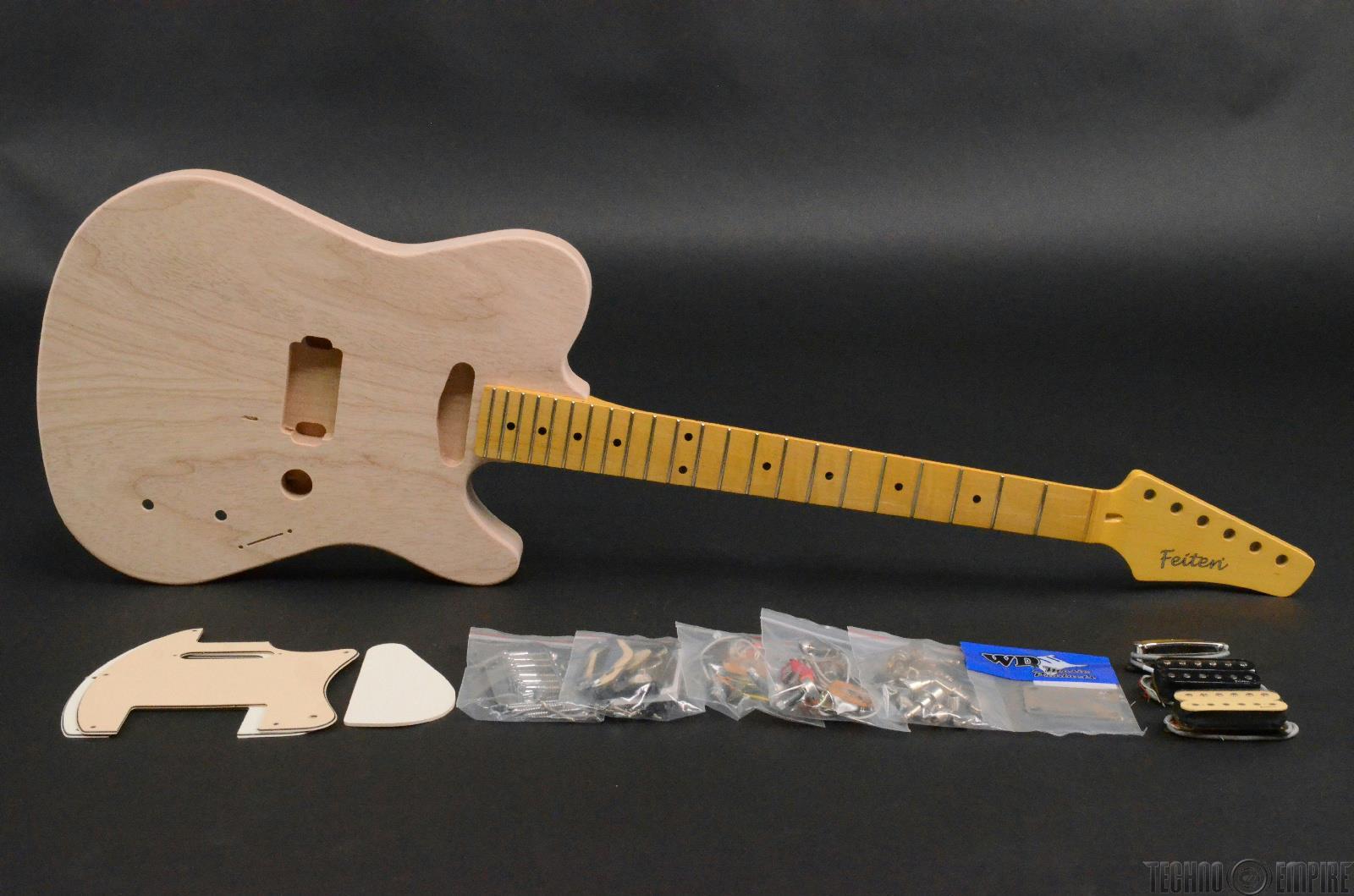 buzz feiten elite pro build your own electric guitar kit 28466 ebay. Black Bedroom Furniture Sets. Home Design Ideas