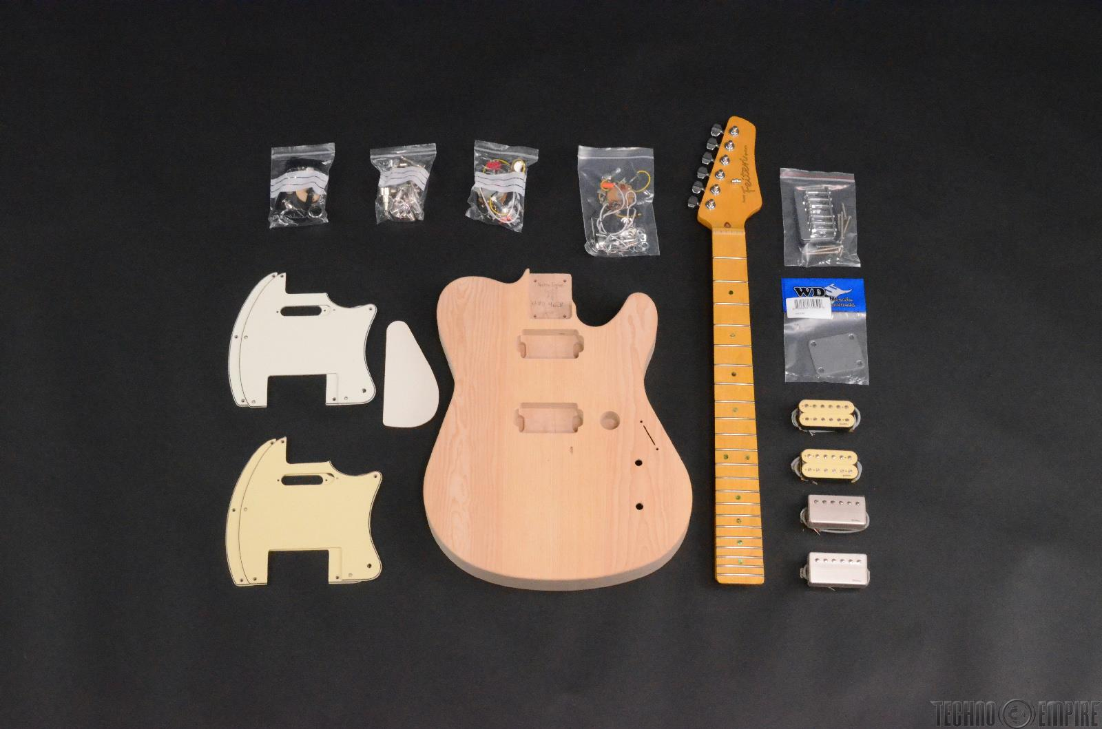Buzz Feiten Gemini Elite Pro Build Your Own Electric Guitar Kit #28447