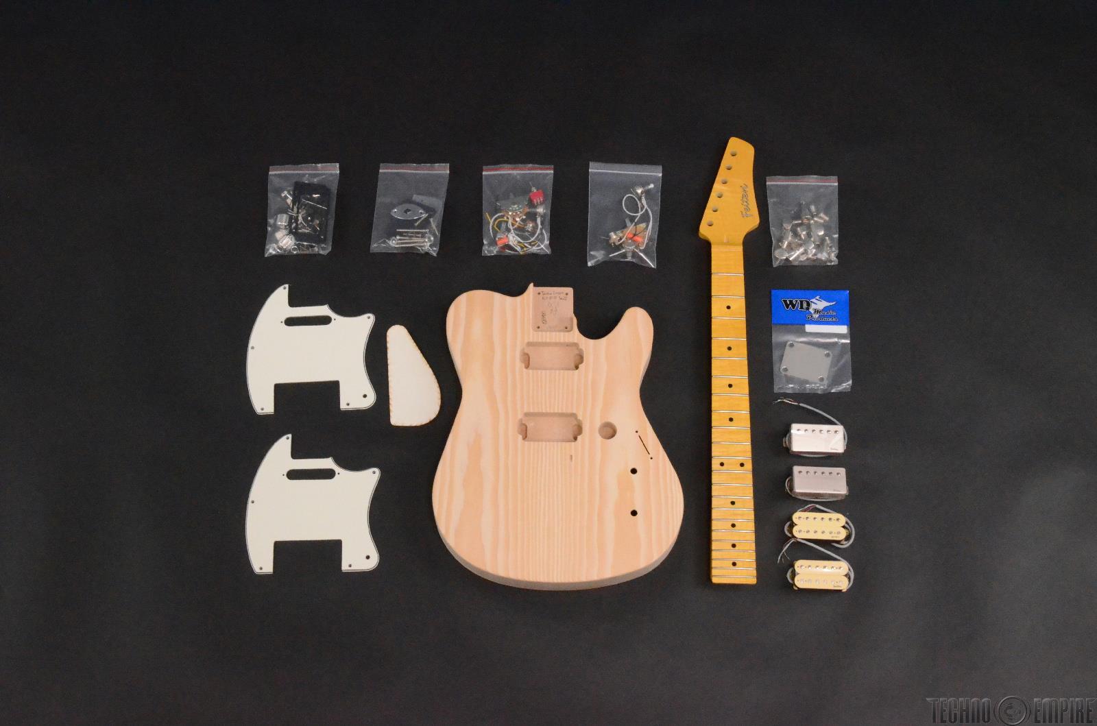 Buzz Feiten Gemini Elite Pro Build Your Own Electric Guitar Kit #28451
