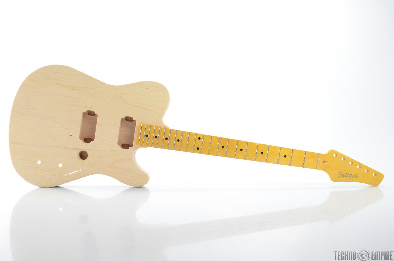buzz feiten gemini elite pro build your own electric guitar kit 28454 ebay. Black Bedroom Furniture Sets. Home Design Ideas