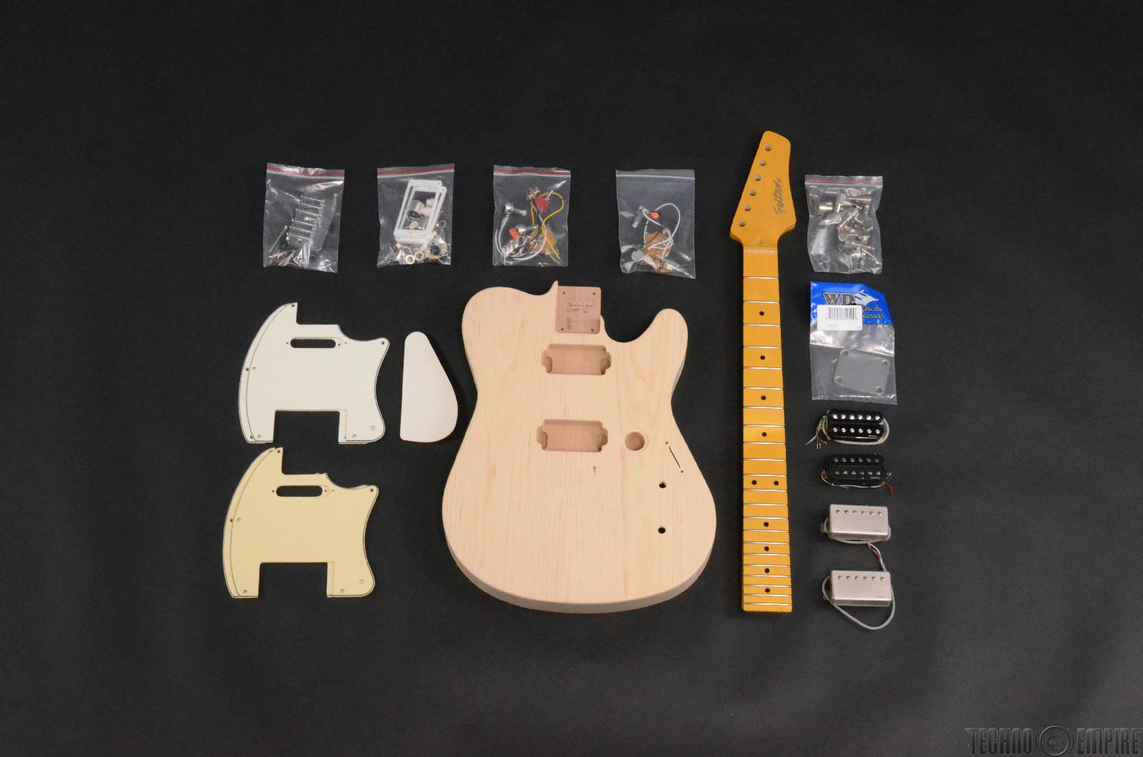 Buzz Feiten Gemini Elite Pro Build Your Own Electric Guitar Kit #28454