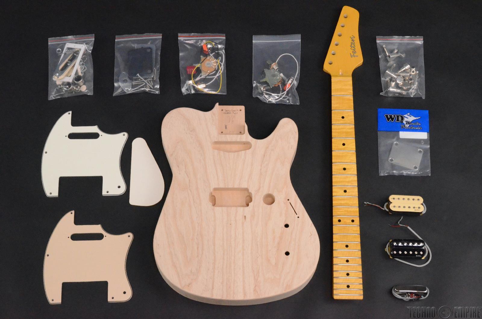 buzz feiten elite pro build your own electric guitar kit 28459 ebay. Black Bedroom Furniture Sets. Home Design Ideas