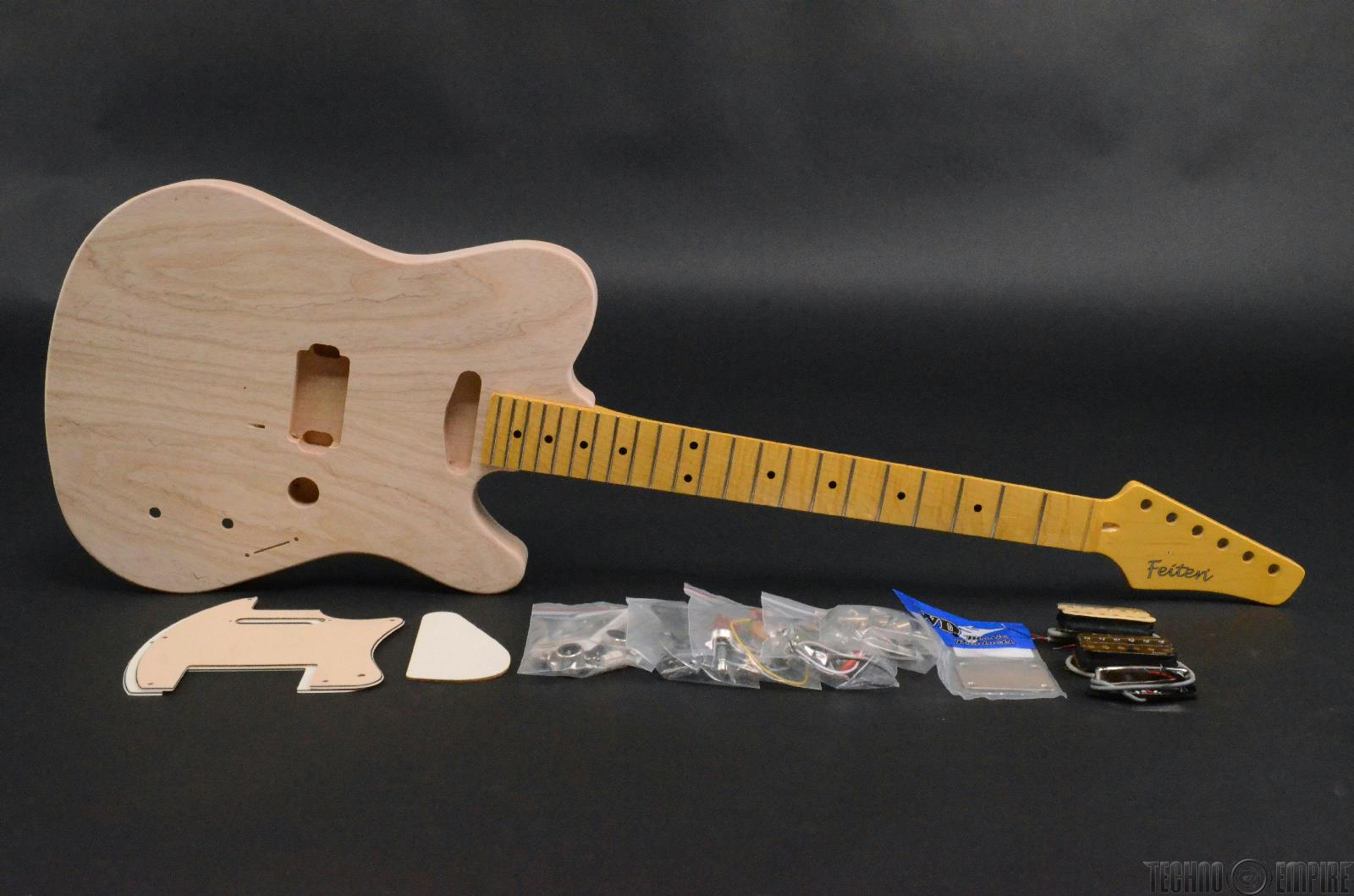 buzz feiten elite pro build your own electric guitar kit 28459 techno empire. Black Bedroom Furniture Sets. Home Design Ideas