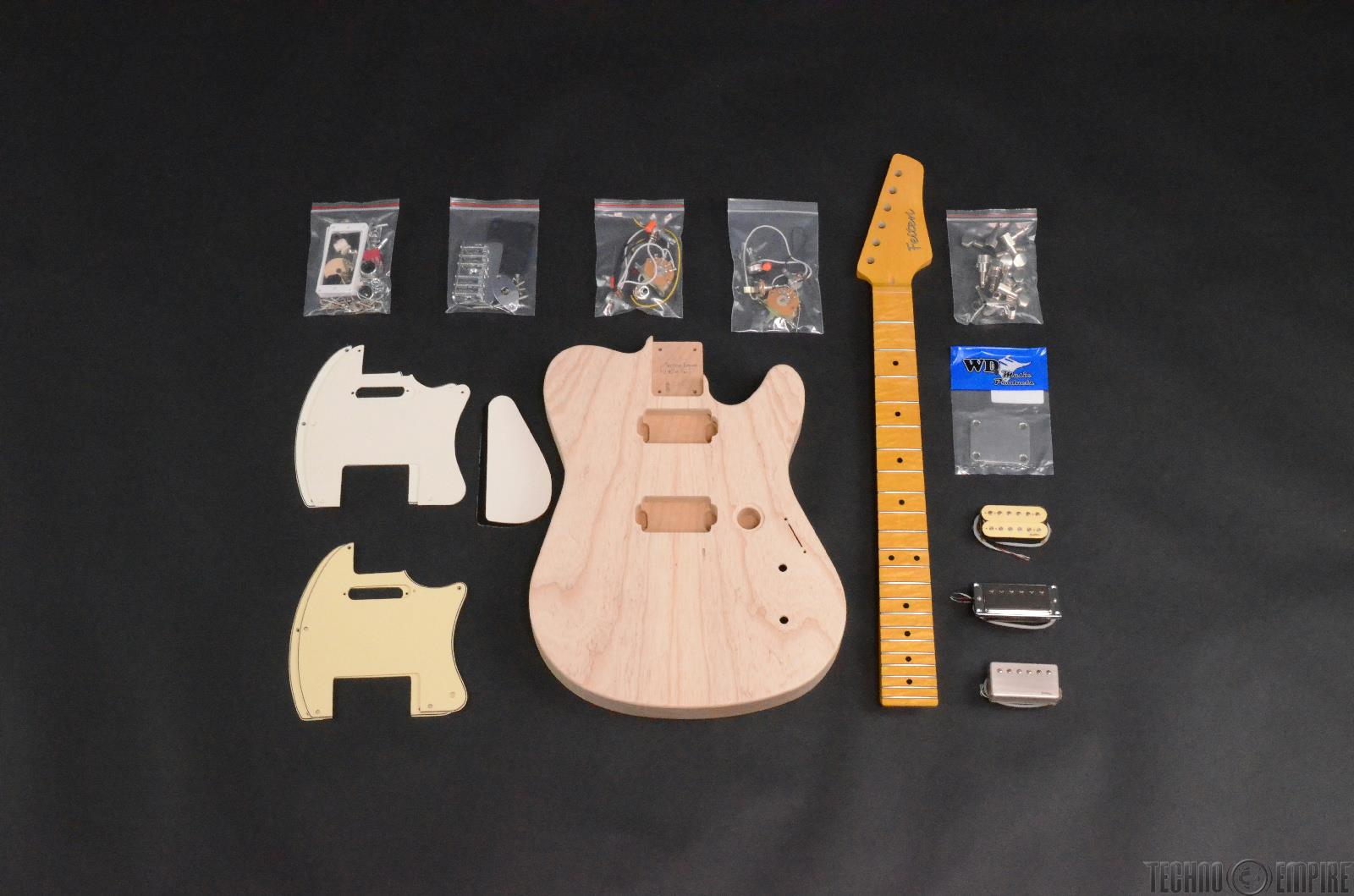 Buzz Feiten Gemini Elite Pro Build Your Own Electric Guitar Kit #28455